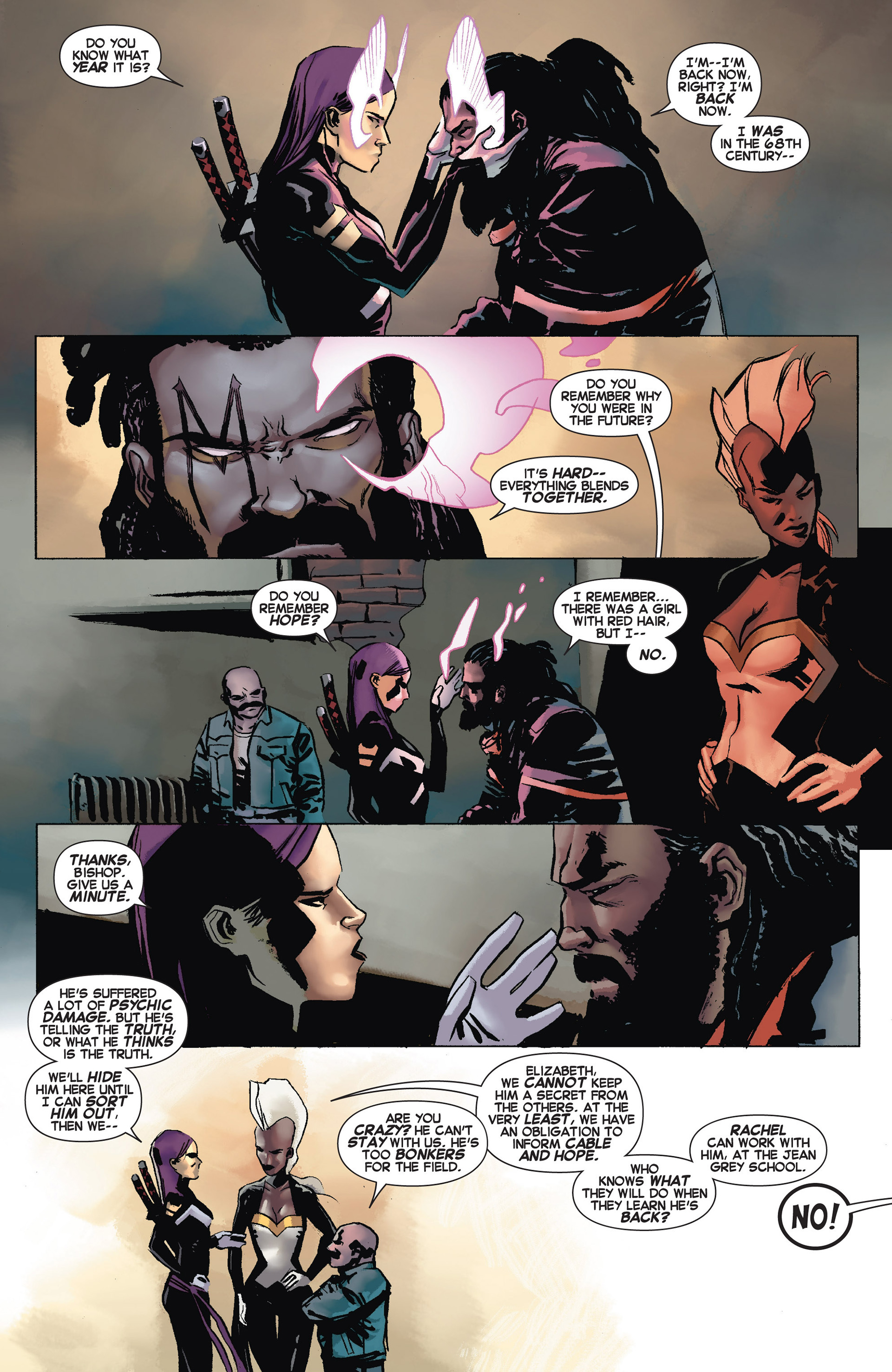 Read online Uncanny X-Force (2013) comic -  Issue #10 - 5