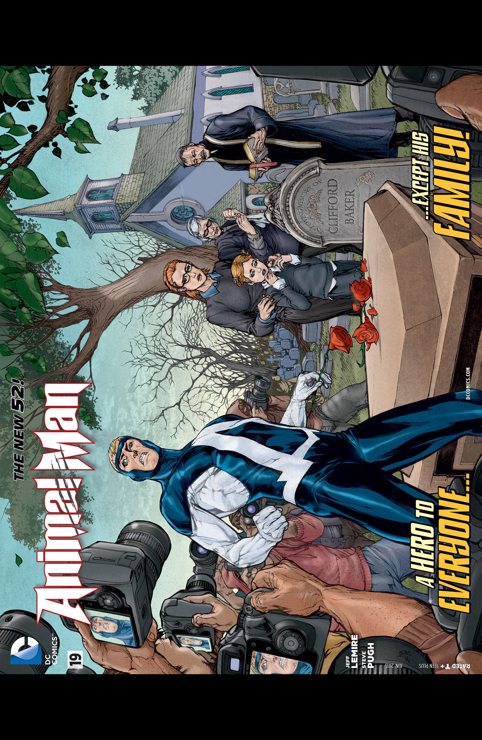 Read online Animal Man (2011) comic -  Issue #19 - 22