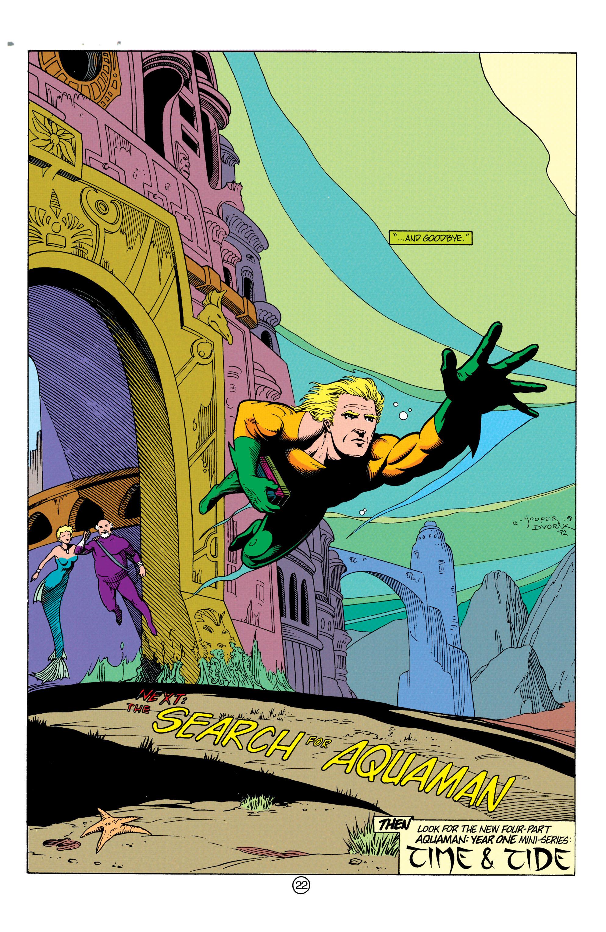Read online Aquaman (1991) comic -  Issue #12 - 22
