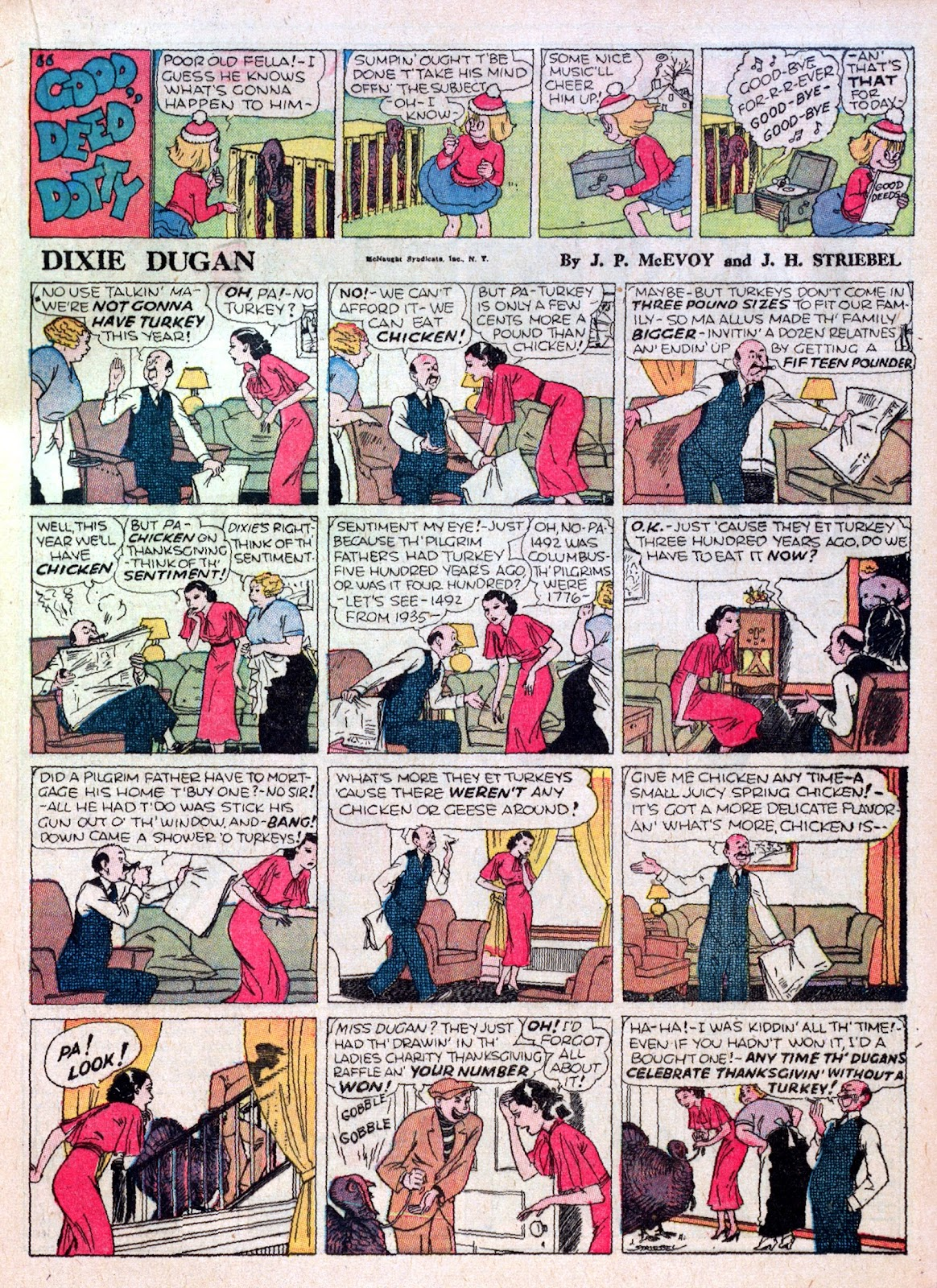 Read online Famous Funnies comic -  Issue #16 - 39