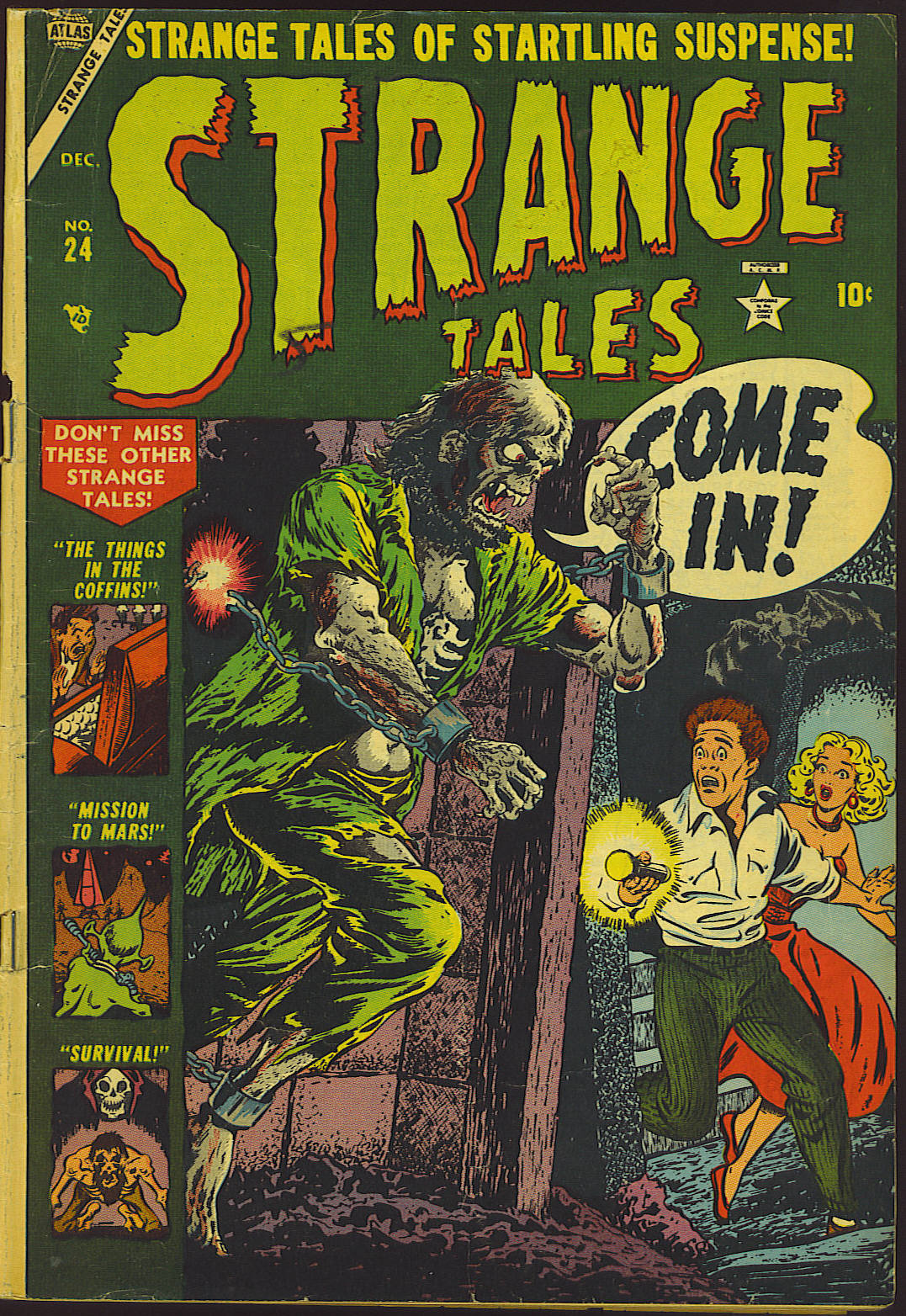 Strange Tales (1951) issue 24 - Page 1