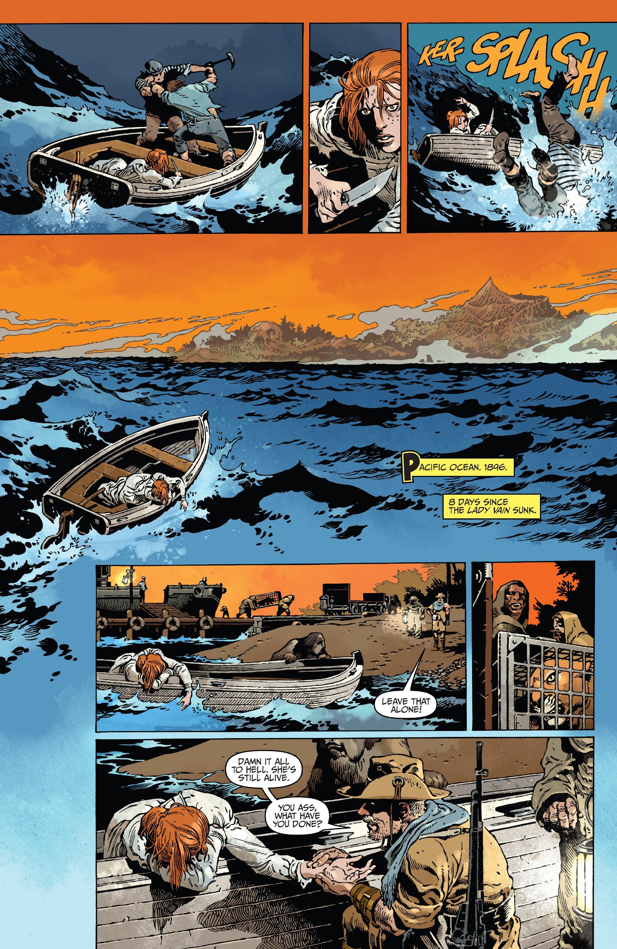 The Island of Dr. Moreau #1 #1 - English 3
