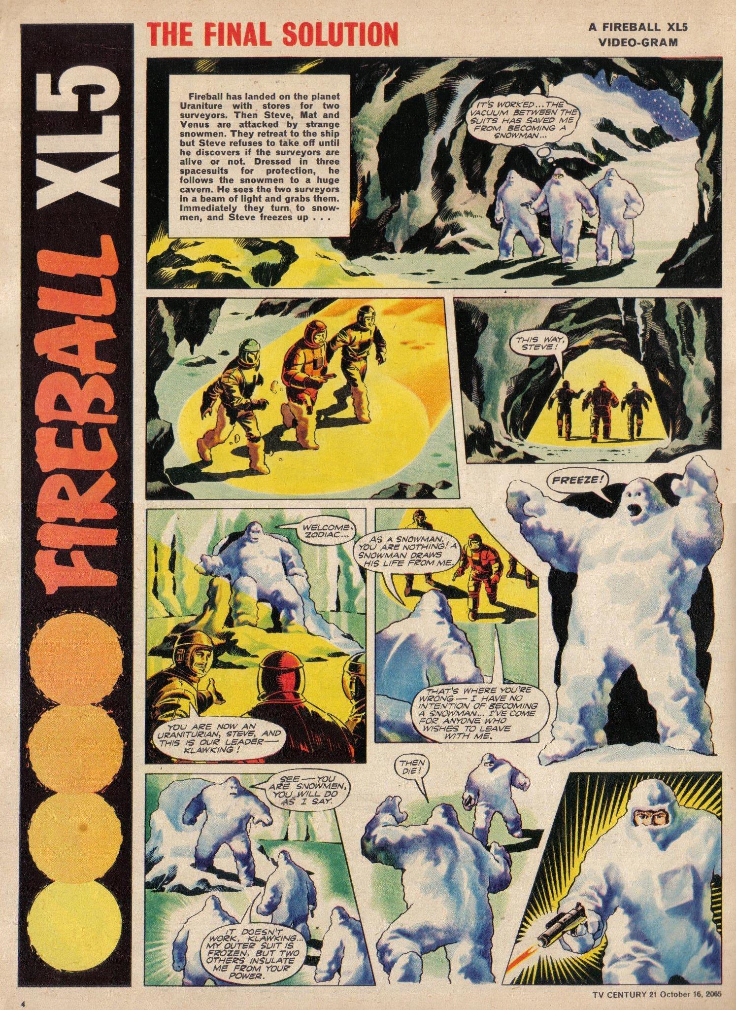 Read online TV Century 21 (TV 21) comic -  Issue #39 - 4