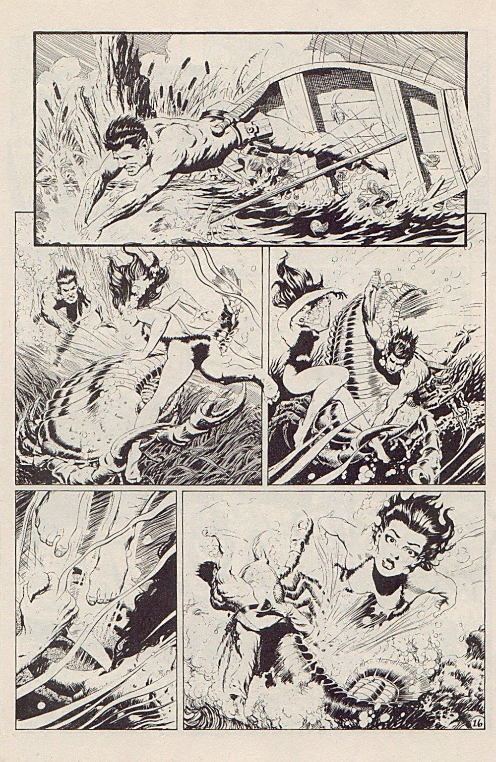Read online Xenozoic Tales comic -  Issue #5 - 19