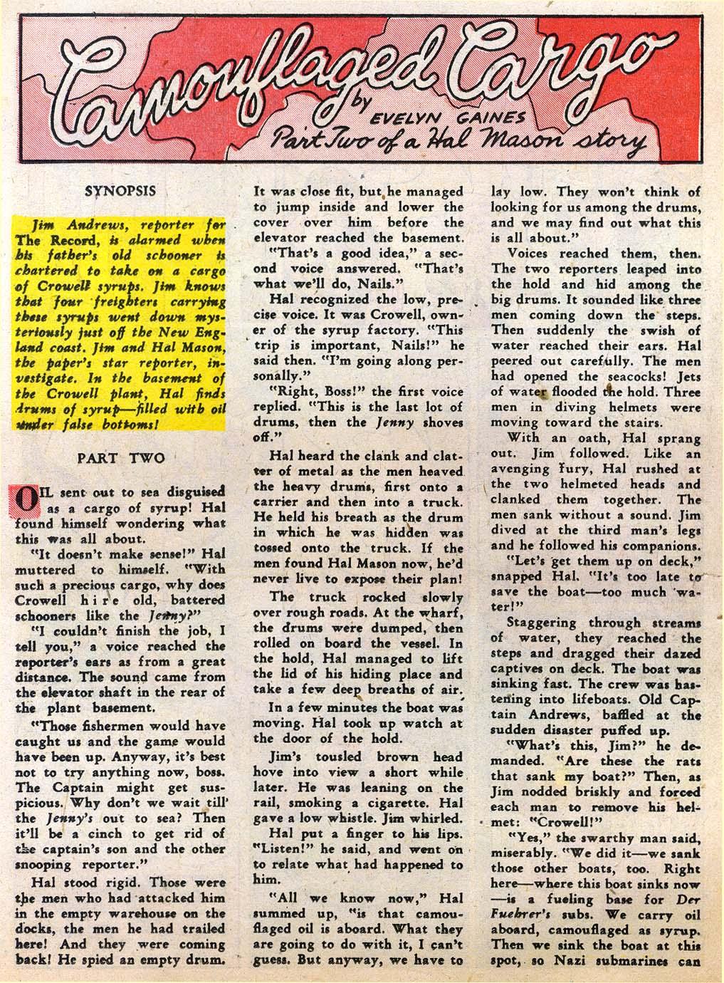 Read online Sensation (Mystery) Comics comic -  Issue #27 - 40