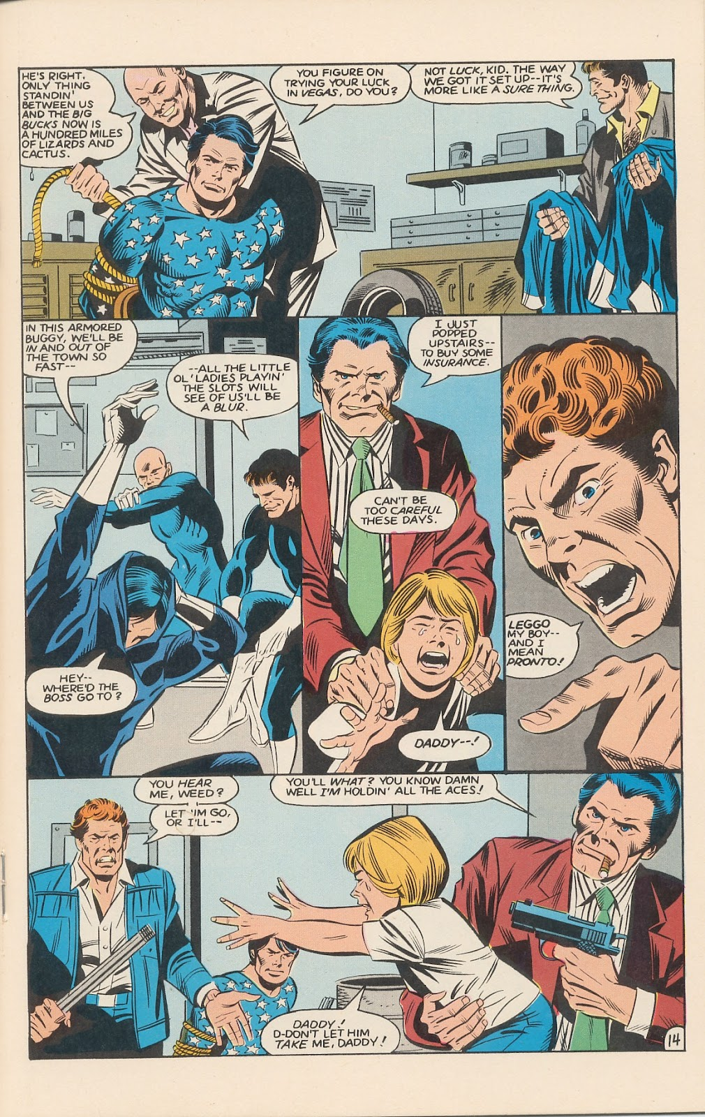 Infinity Inc. (1984) issue 11 - Page 19