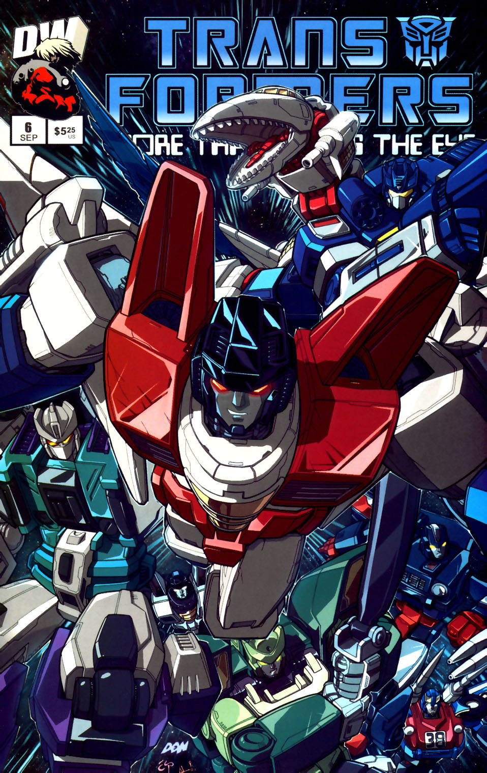 Read online Transformers: More than Meets the Eye comic -  Issue #6 - 1