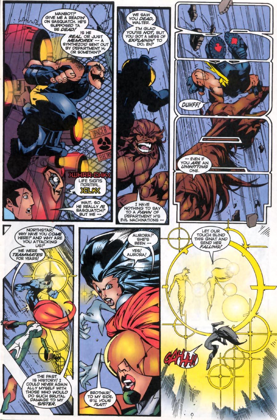 Read online Alpha Flight (1997) comic -  Issue #19 - 4