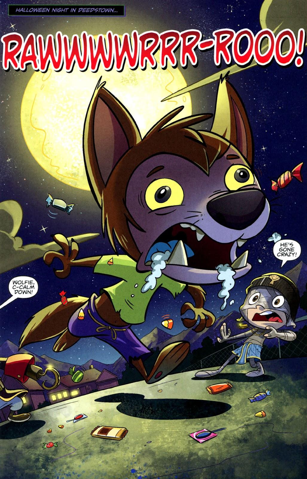 Read online Casper's Scare School comic -  Issue #1 - 3