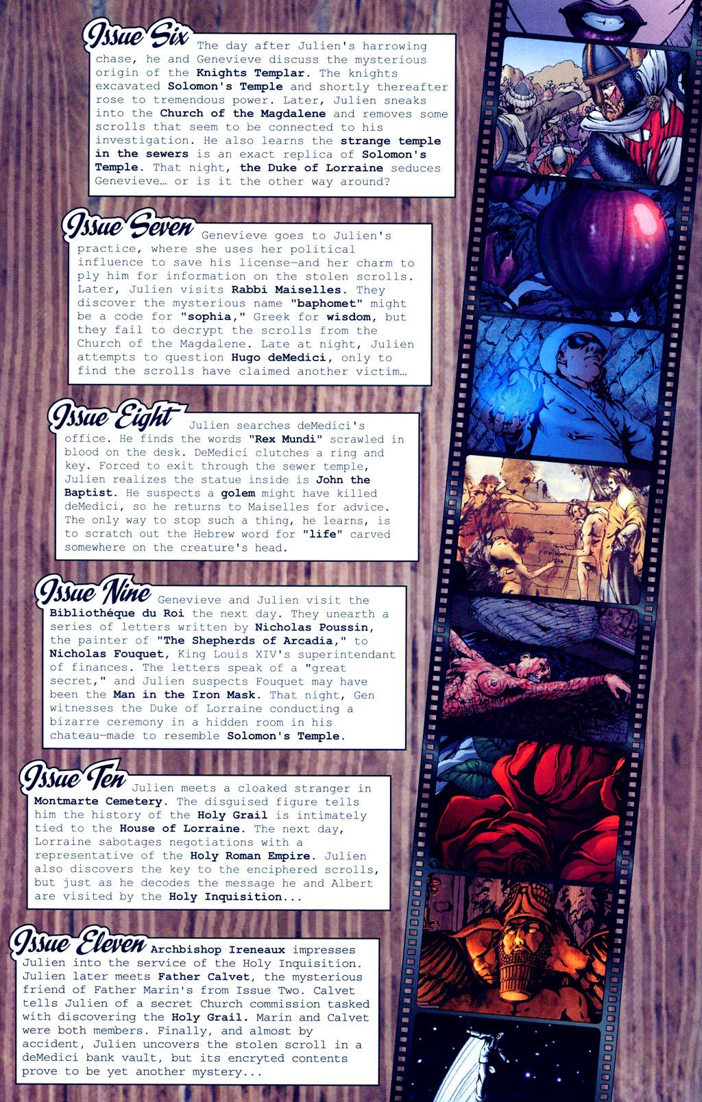 Read online Rex Mundi comic -  Issue #12 - 4