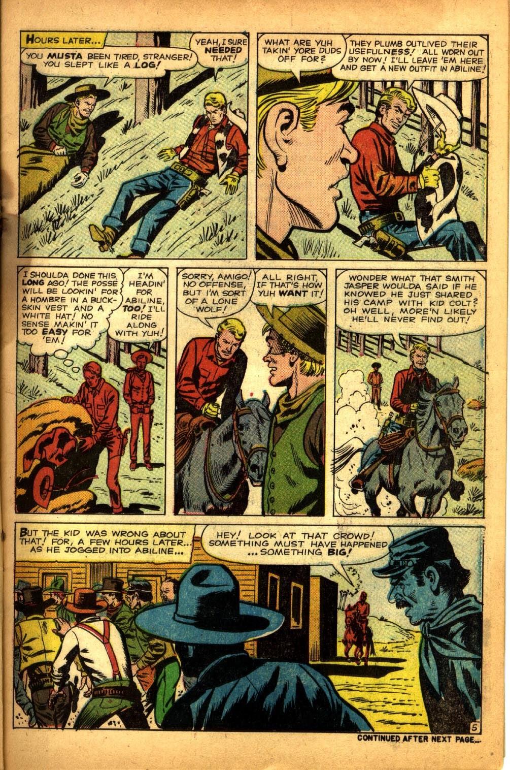 Gunsmoke Western issue 64 - Page 7