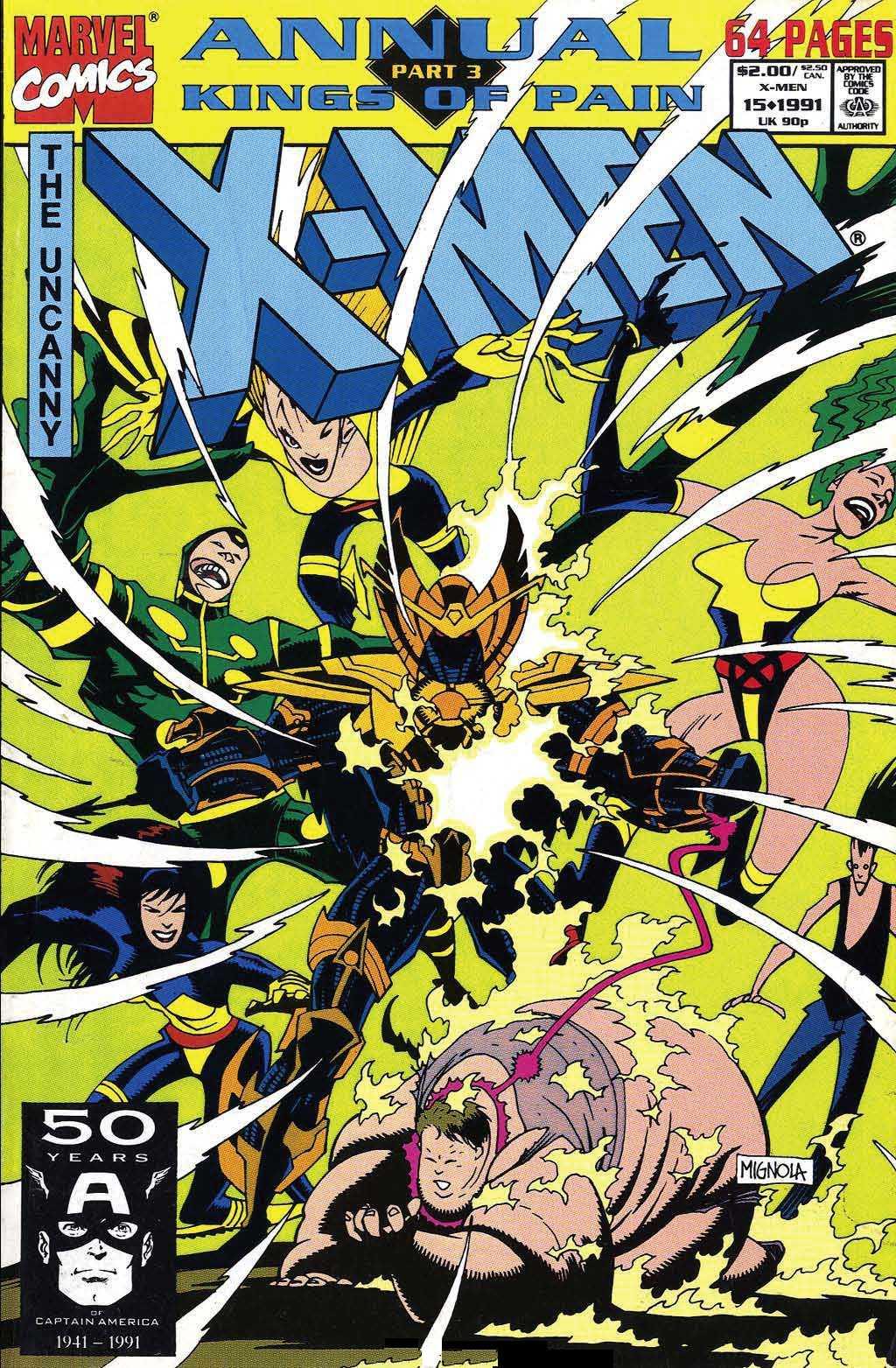 X-Men Annual 15 Page 1