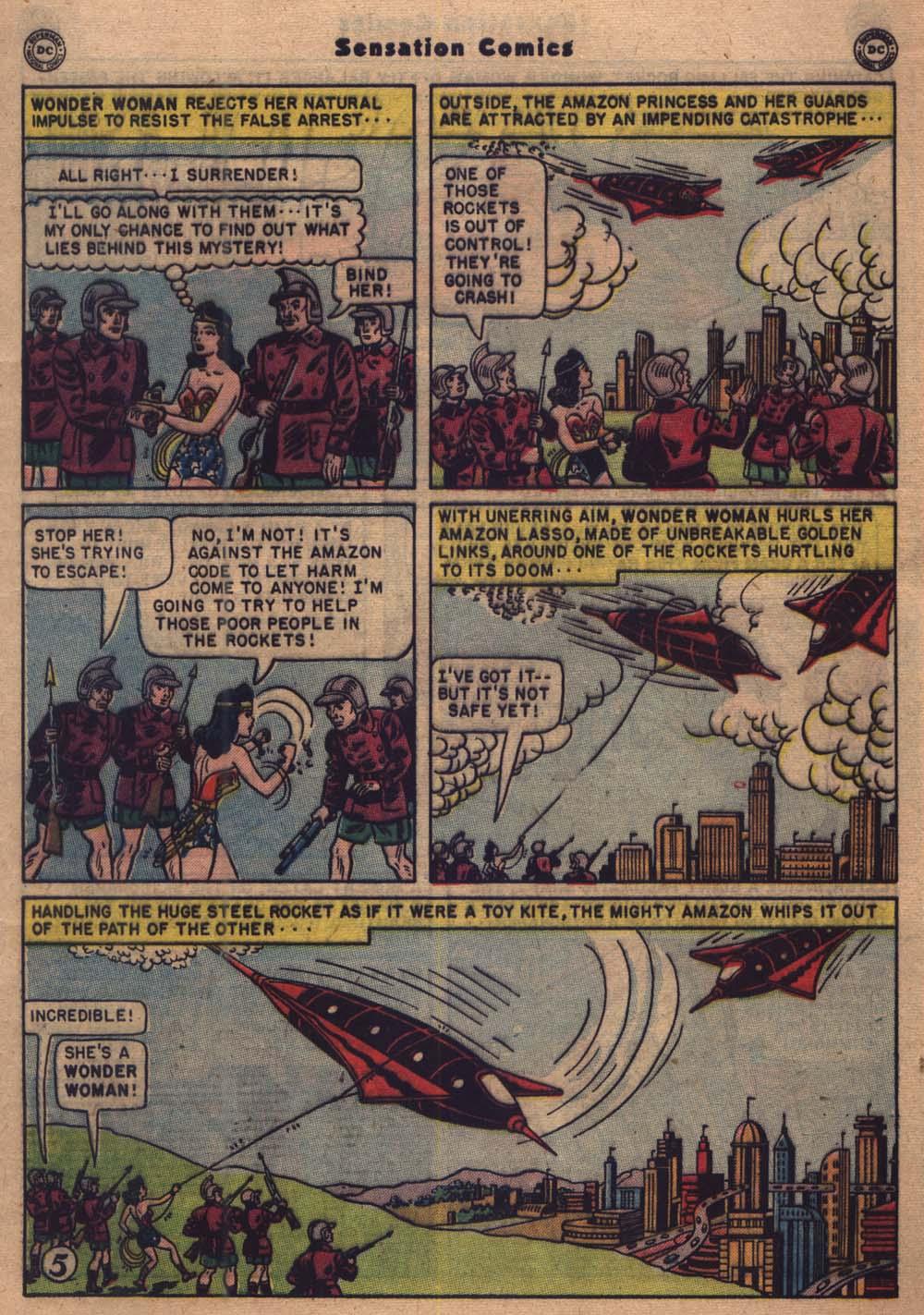 Read online Sensation (Mystery) Comics comic -  Issue #103 - 6