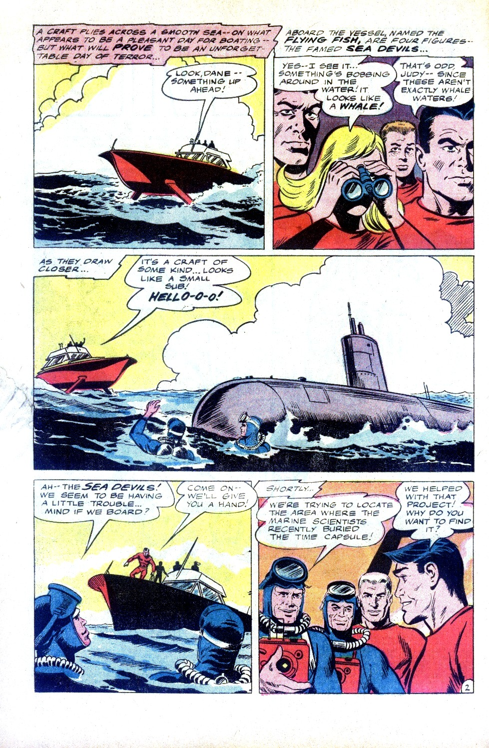 Read online Sea Devils comic -  Issue #32 - 5
