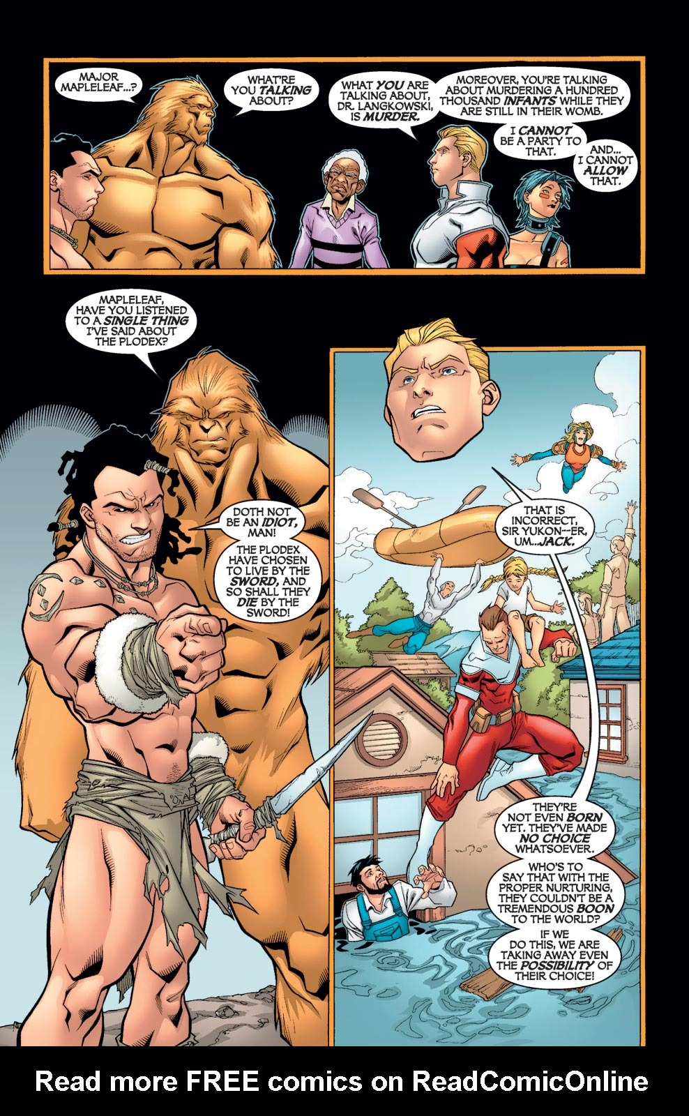 Read online Alpha Flight (2004) comic -  Issue #6 - 8