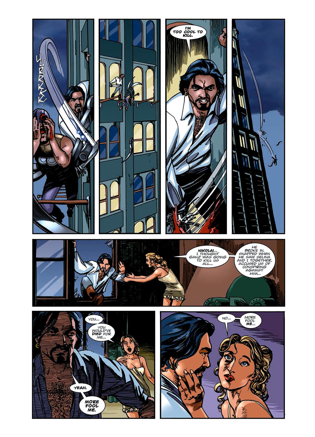Read online Nikolai Dante comic -  Issue # TPB 6 - 65
