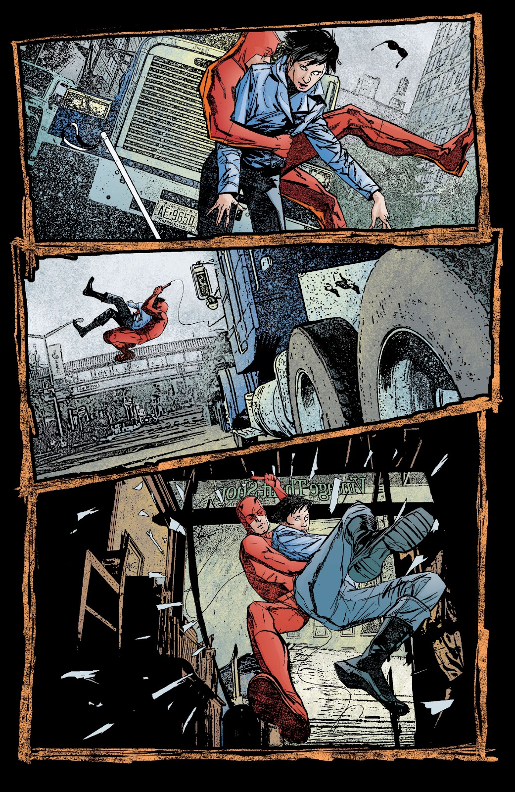Read online Daredevil (1998) comic -  Issue # _Ultimate_Collection TPB 2 (Part 1) - 7