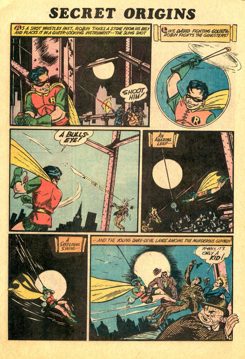 Read online Secret Origins (1973) comic -  Issue #7 - 12