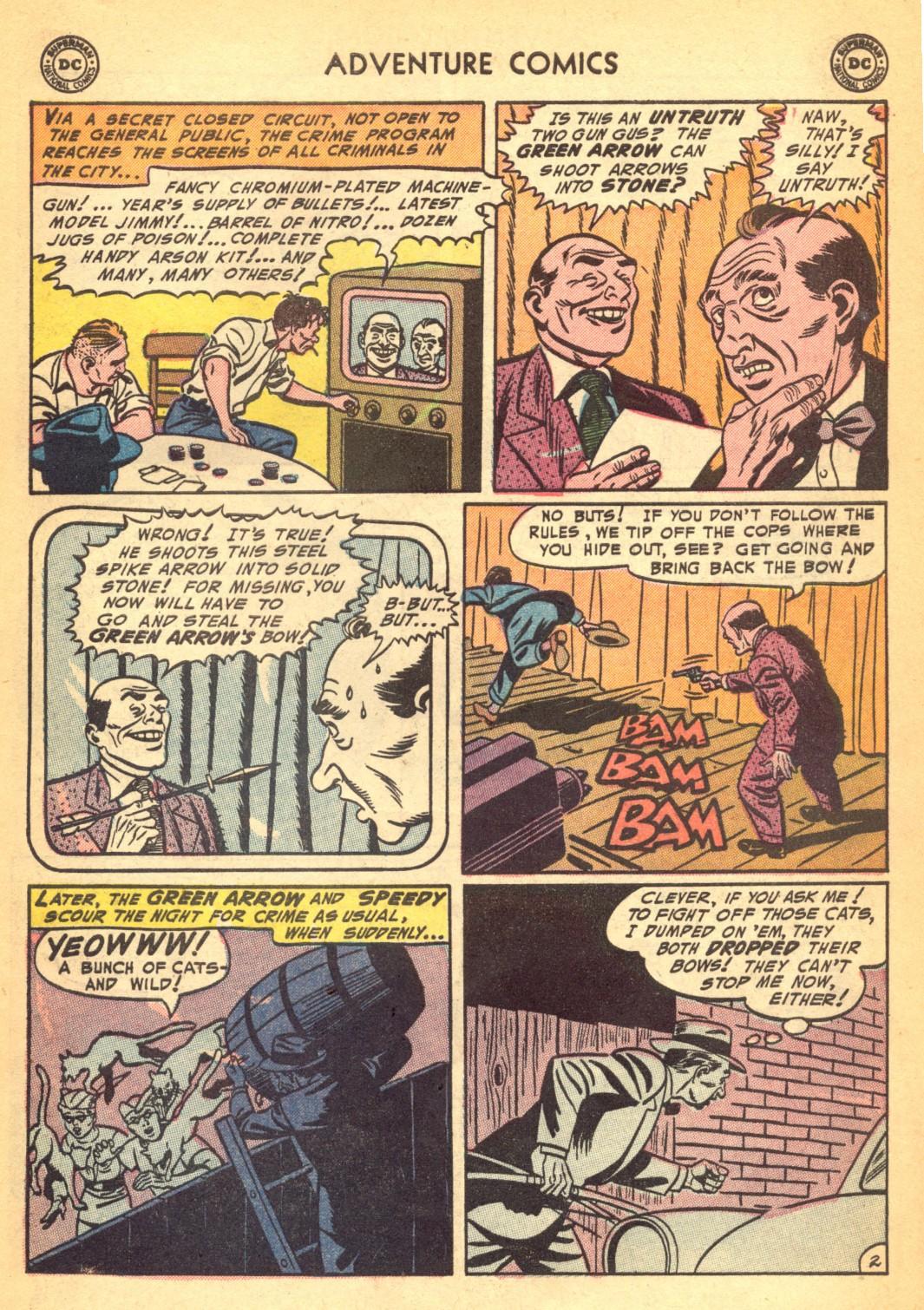 Read online Adventure Comics (1938) comic -  Issue #202 - 35