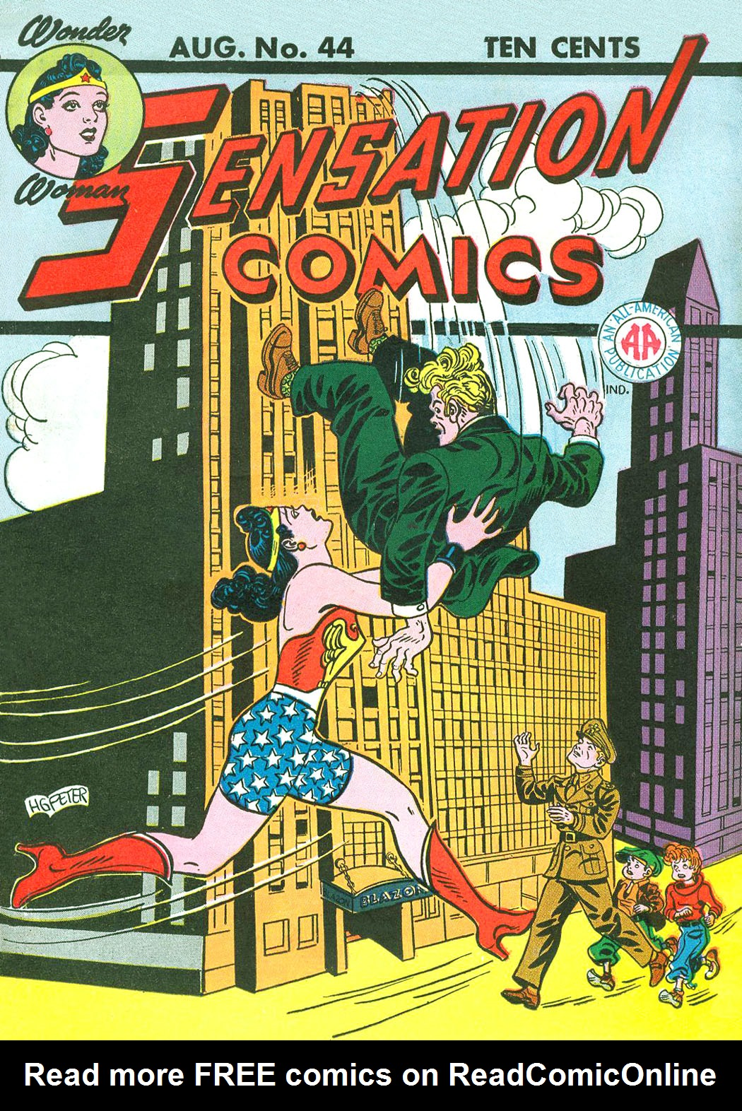 Read online Sensation (Mystery) Comics comic -  Issue #44 - 1
