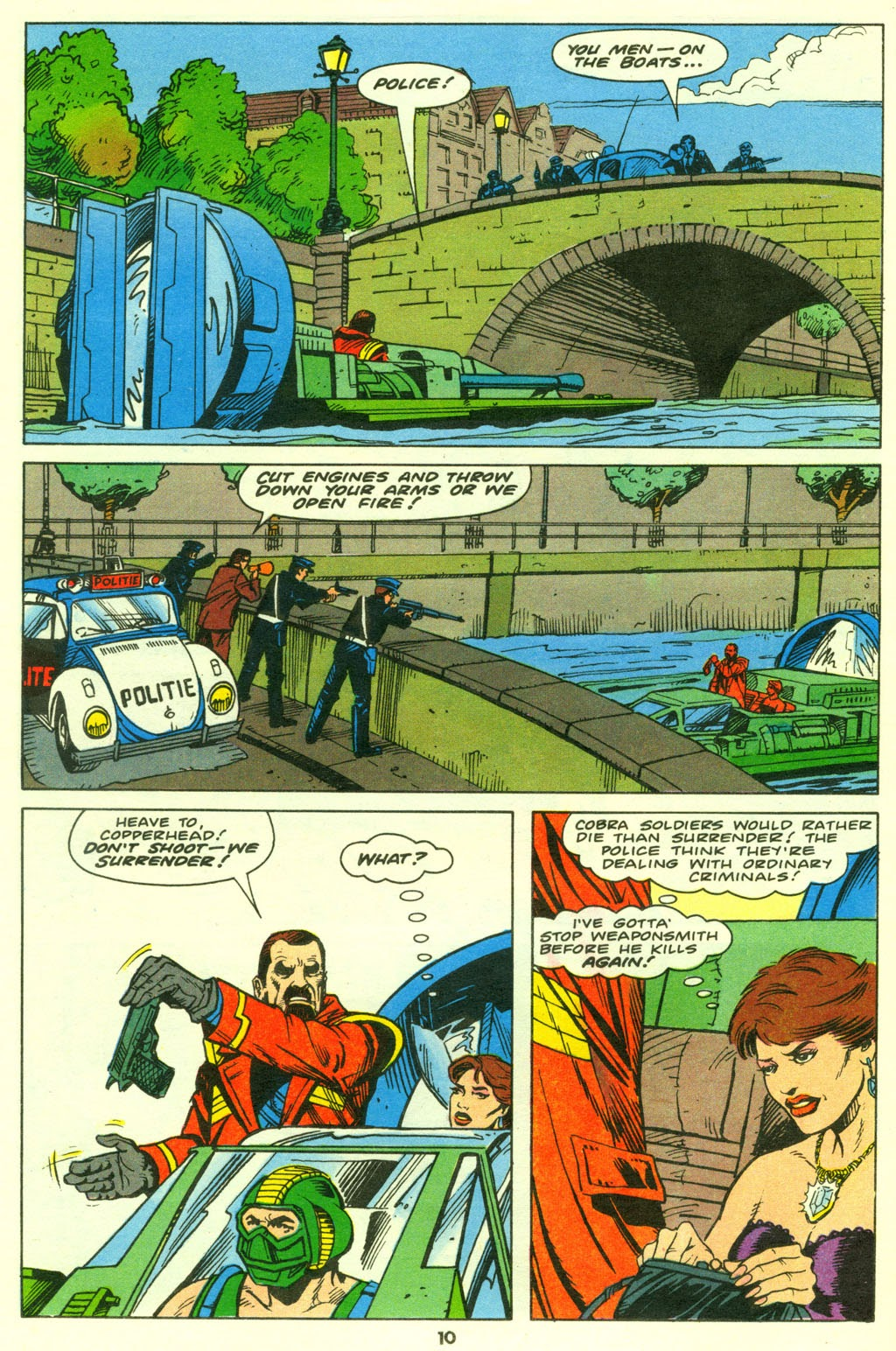 G.I. Joe European Missions issue 9 - Page 11