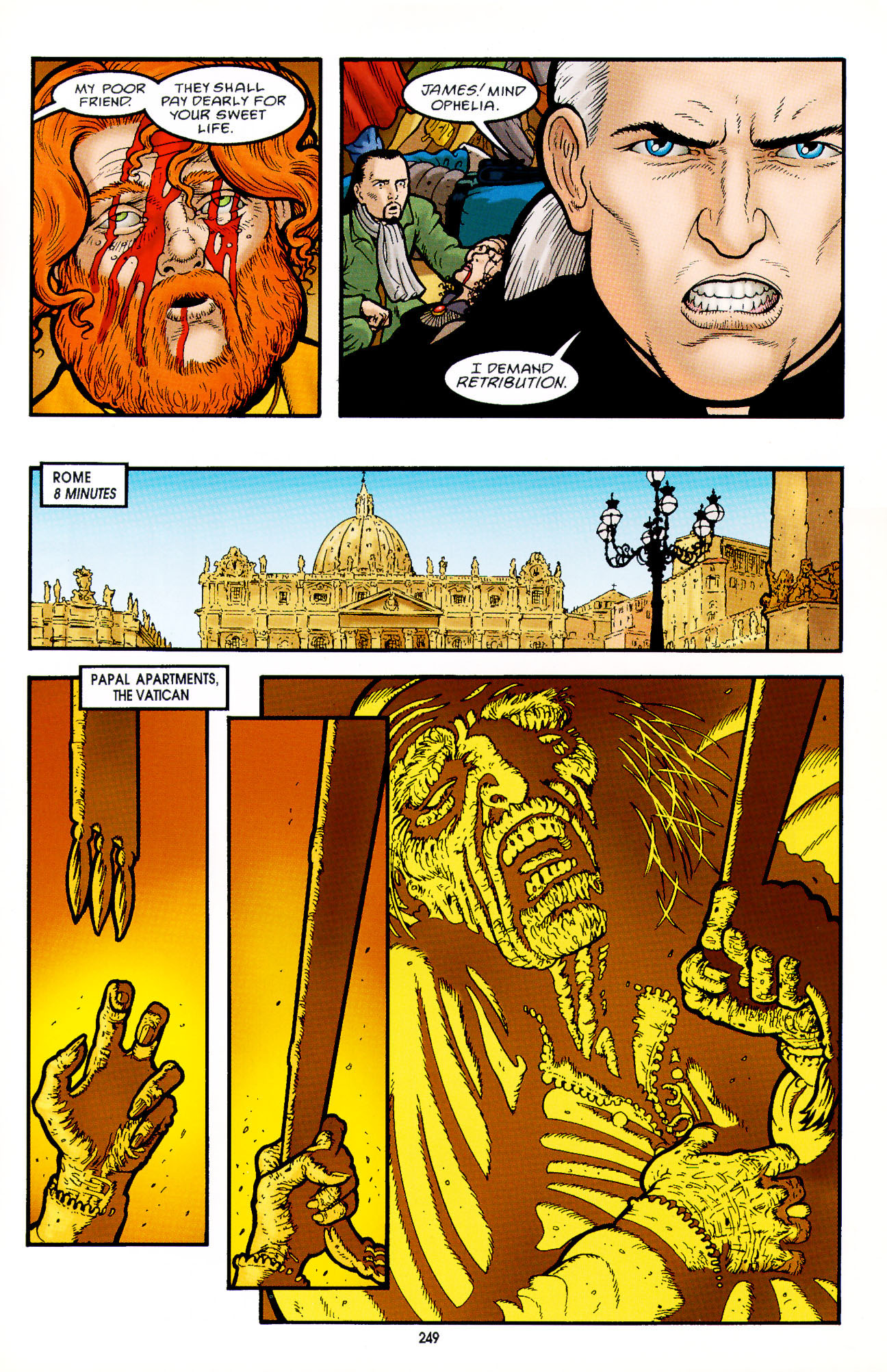 Read online Heart of Empire comic -  Issue #8 - 25