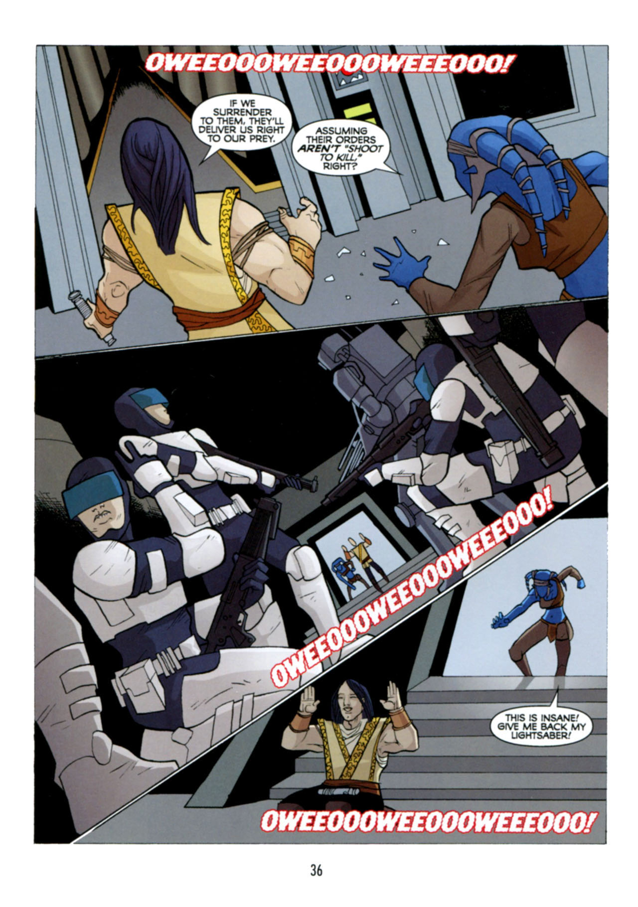Read online Star Wars: The Clone Wars - Deadly Hands of Shon-Ju comic -  Issue # Full - 37