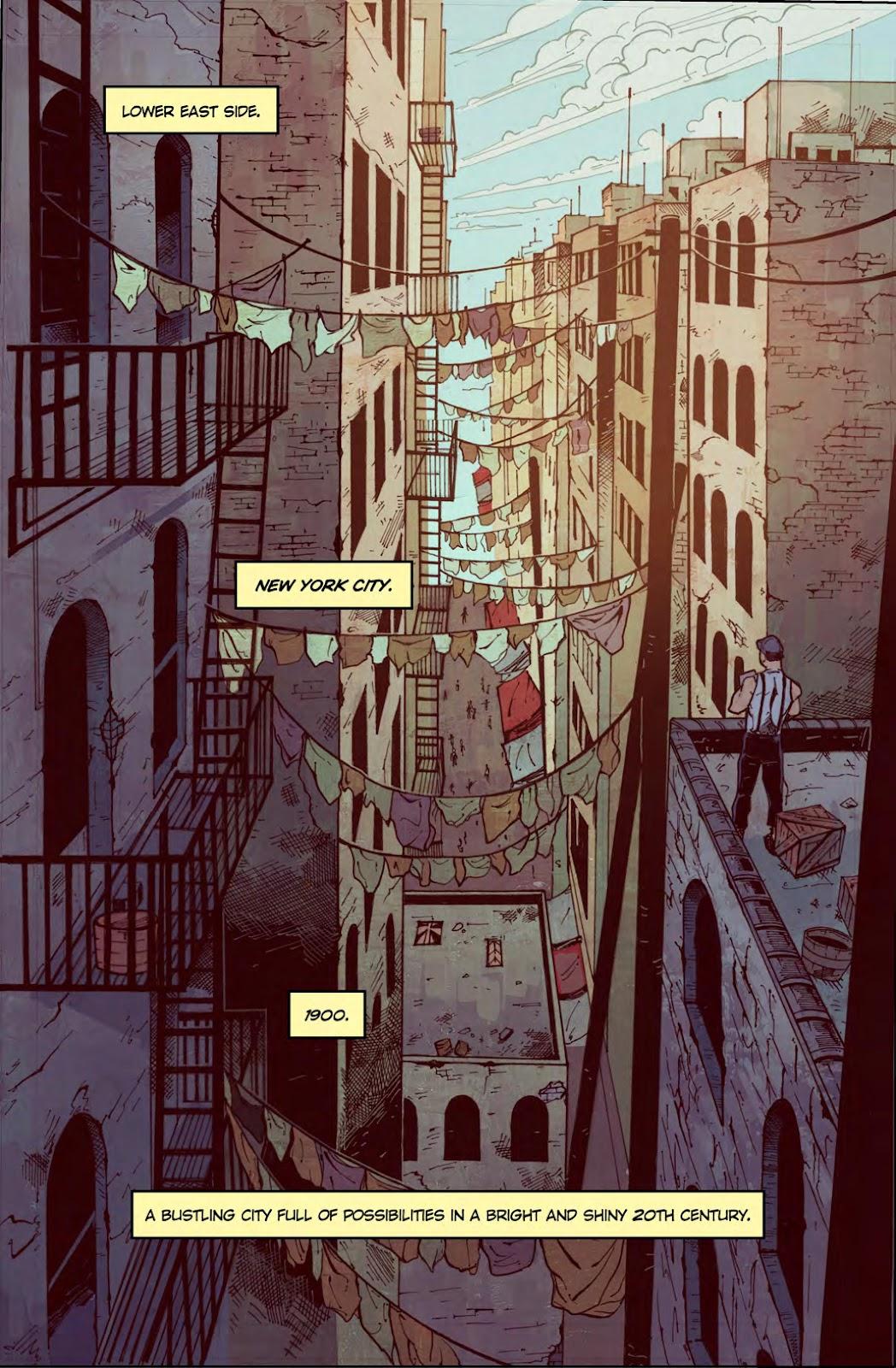 Read online American Dreams comic -  Issue #1 - 3