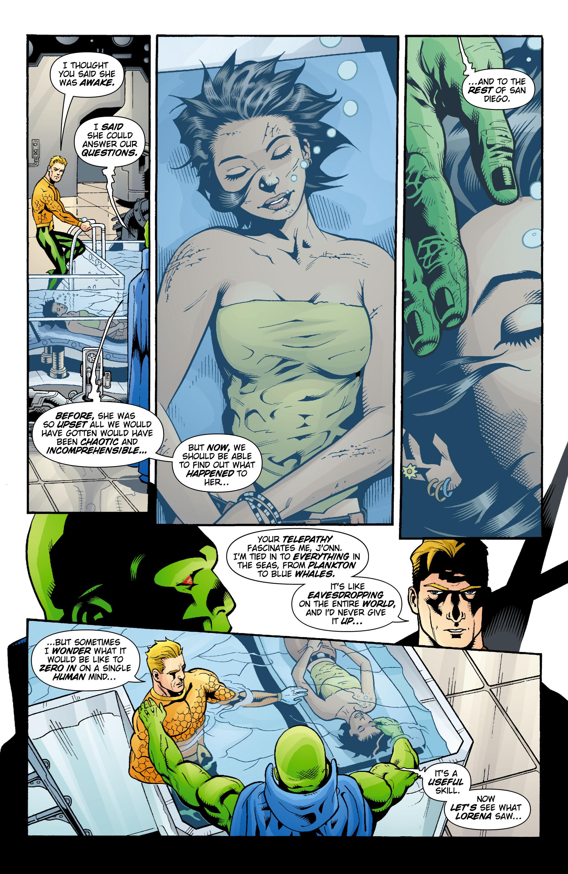 Read online Aquaman (2003) comic -  Issue #16 - 17