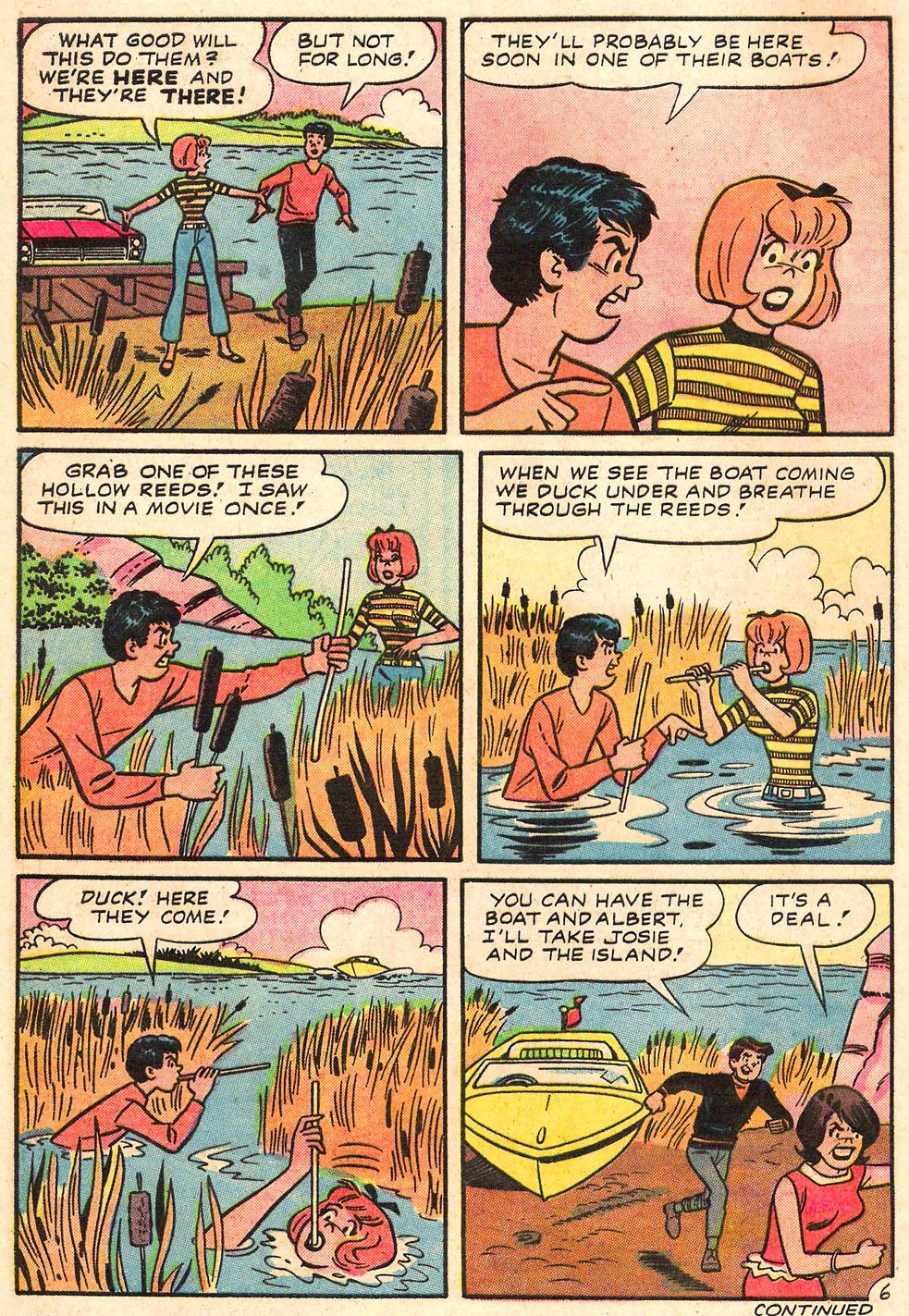Read online She's Josie comic -  Issue #19 - 8