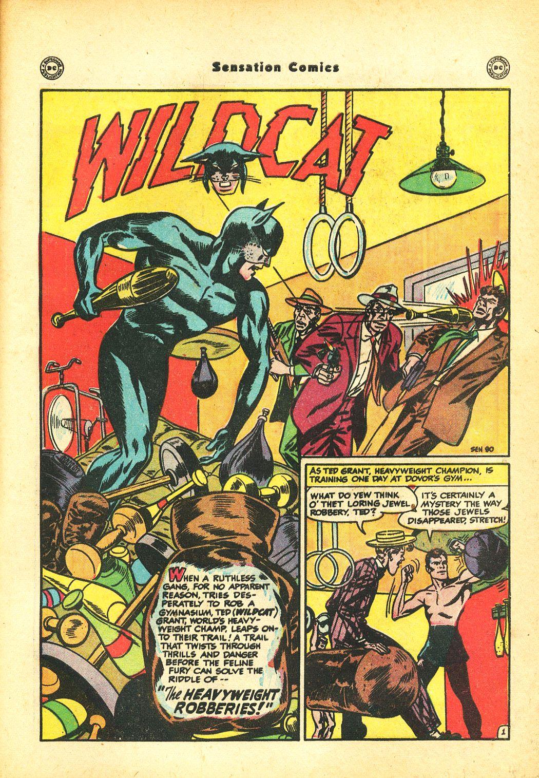Read online Sensation (Mystery) Comics comic -  Issue #86 - 43