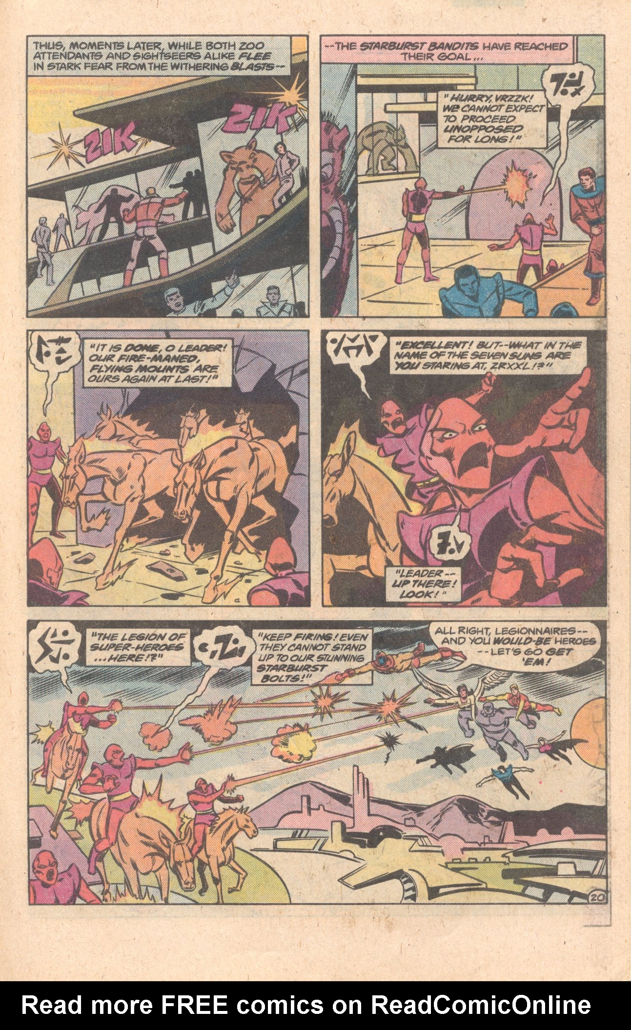 Legion of Super-Heroes (1980) 272 Page 20