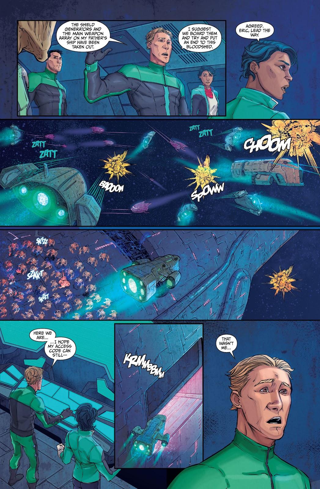 Exilium issue 6 - Page 36