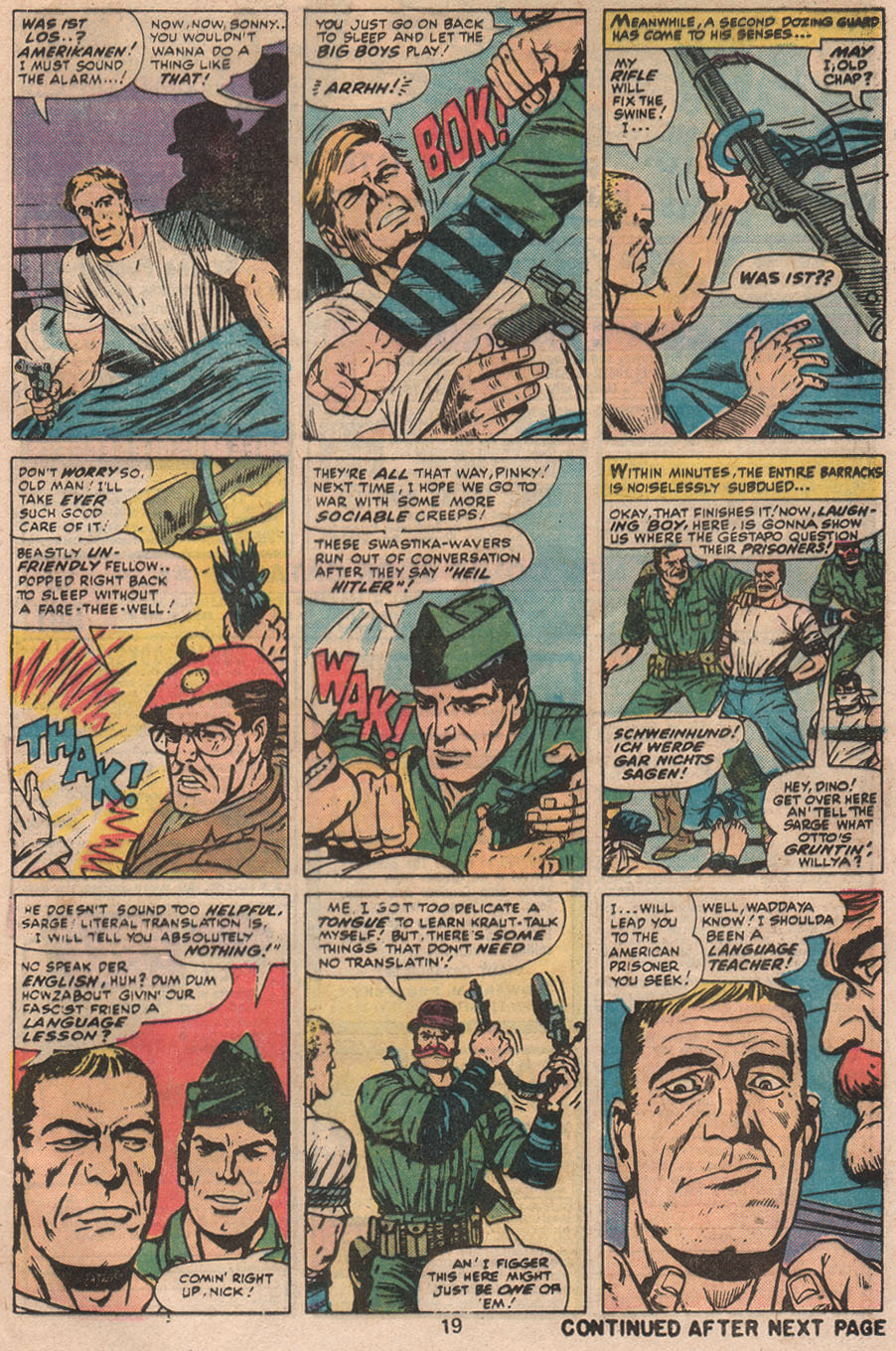 Read online Sgt. Fury comic -  Issue #133 - 21