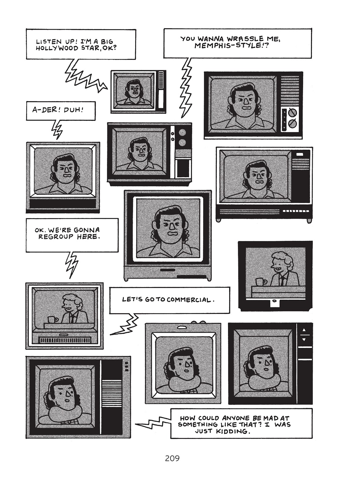 Read online Is This Guy For Real?: The Unbelievable Andy Kaufman comic -  Issue # TPB (Part 3) - 14