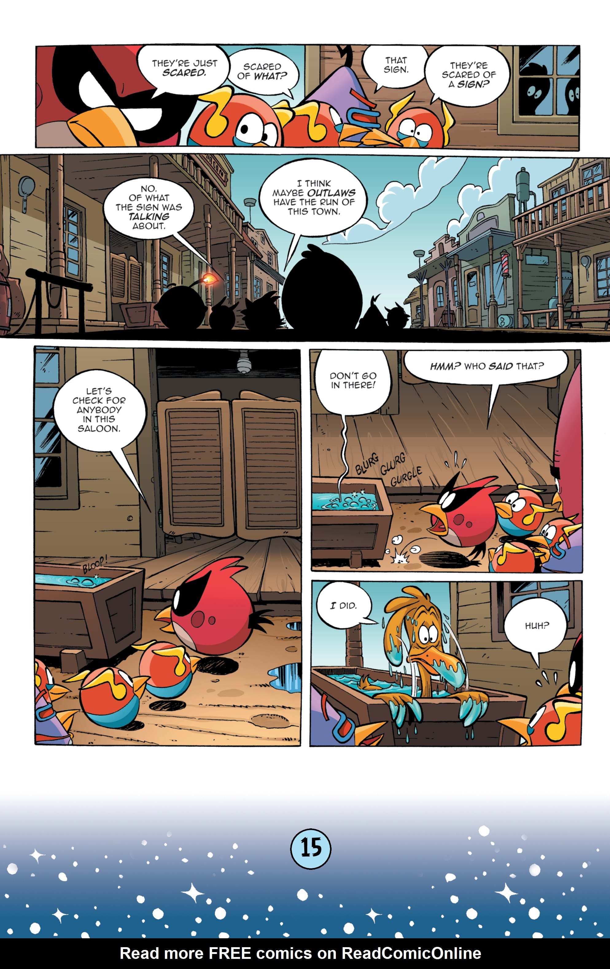 Read online Angry Birds Comics (2016) comic -  Issue #9 - 17