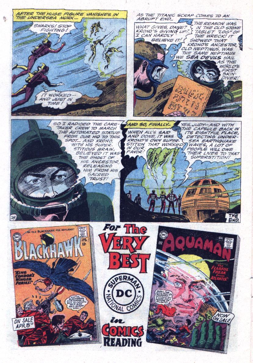 Read online Sea Devils comic -  Issue #23 - 32