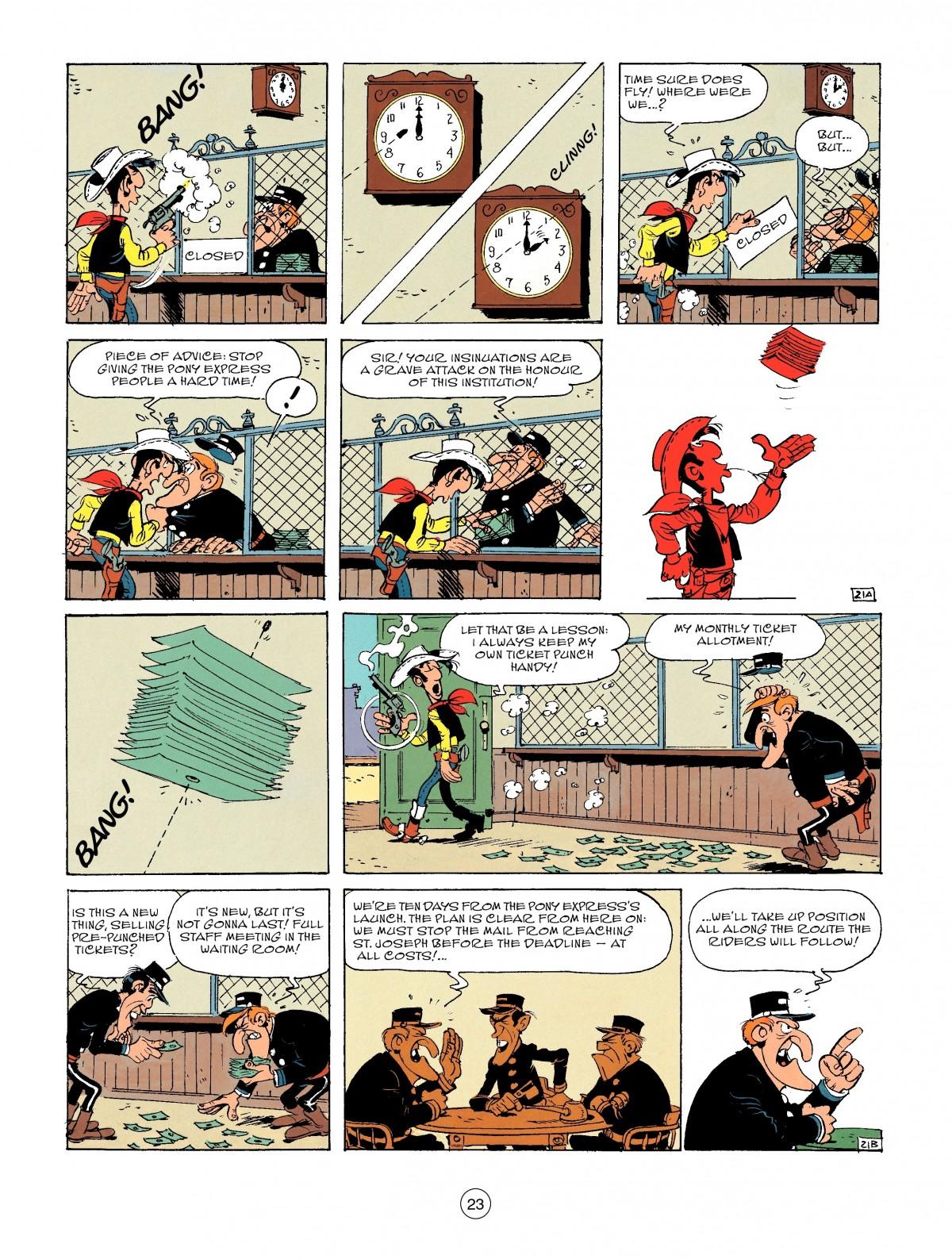 Read online A Lucky Luke Adventure comic -  Issue #46 - 23