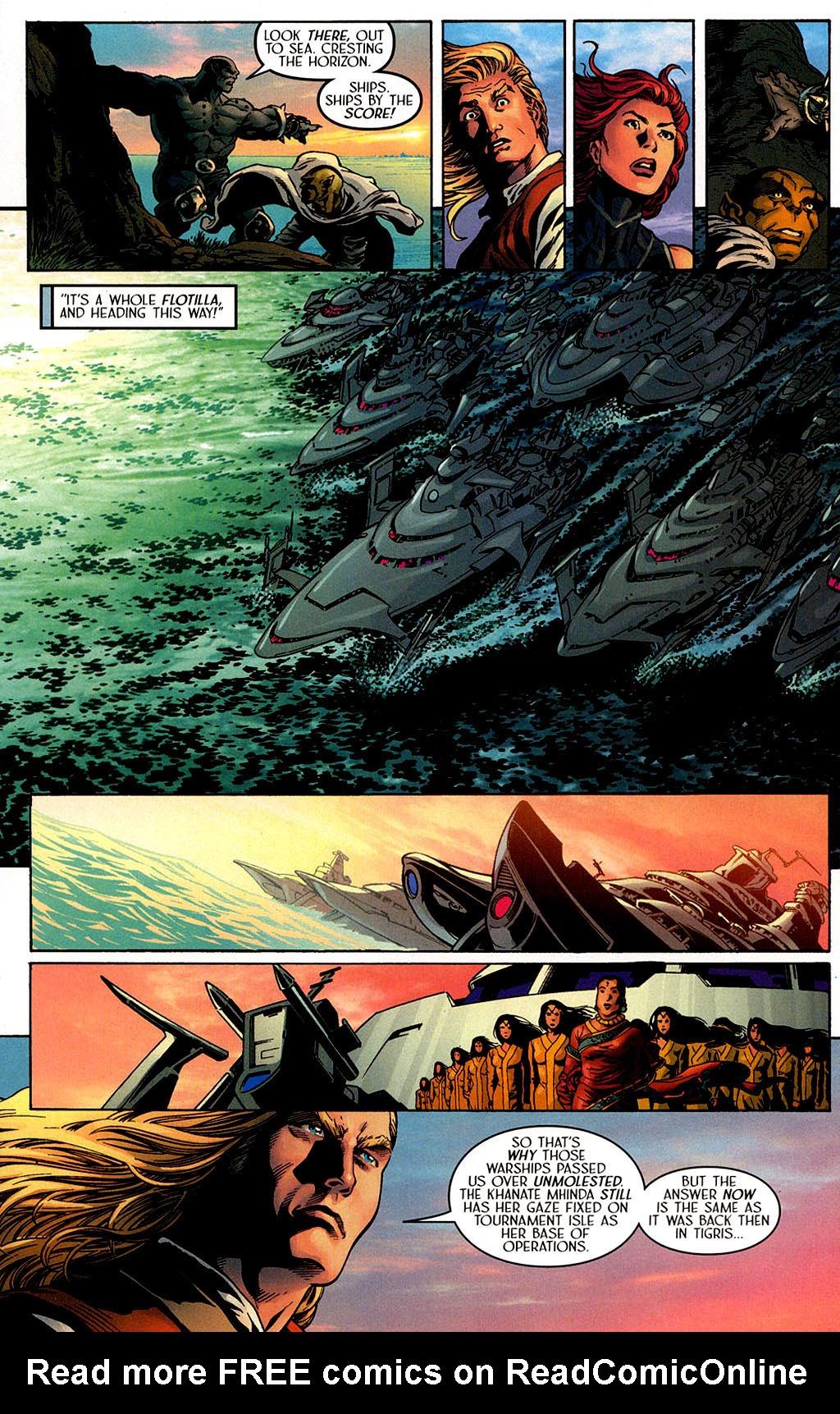 Read online Scion comic -  Issue #40 - 18