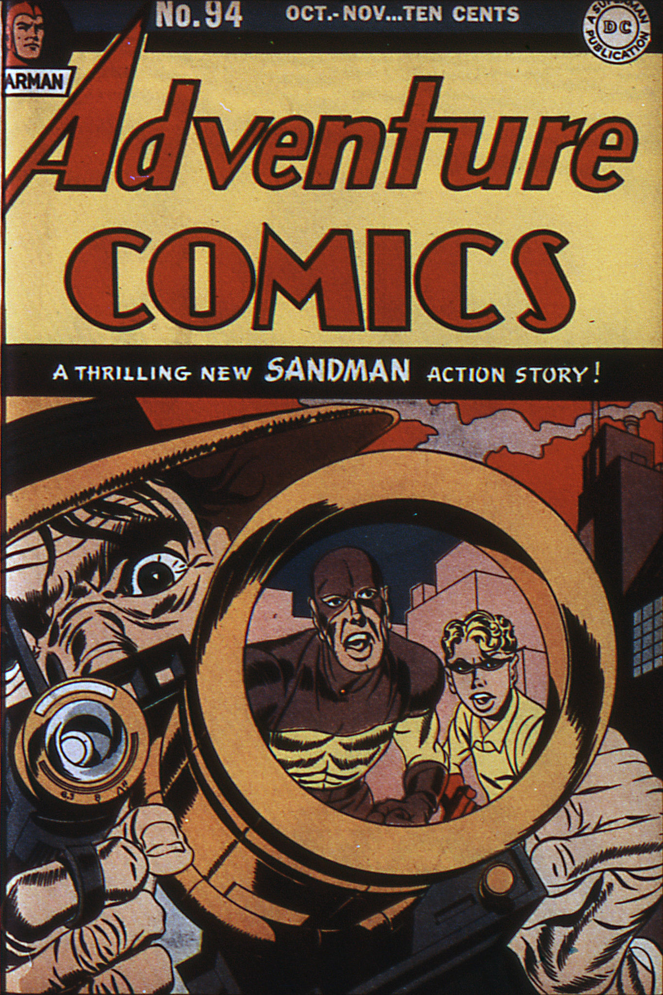 Read online Adventure Comics (1938) comic -  Issue #94 - 1