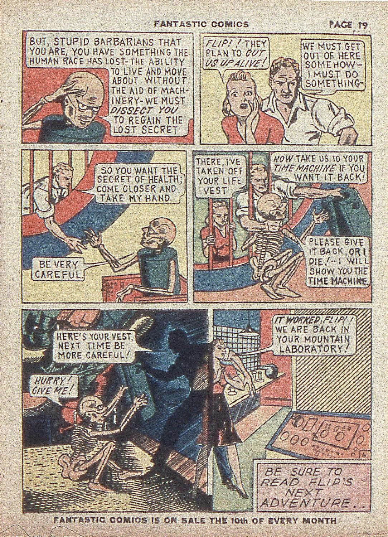 Read online Fantastic Comics comic -  Issue #4 - 21