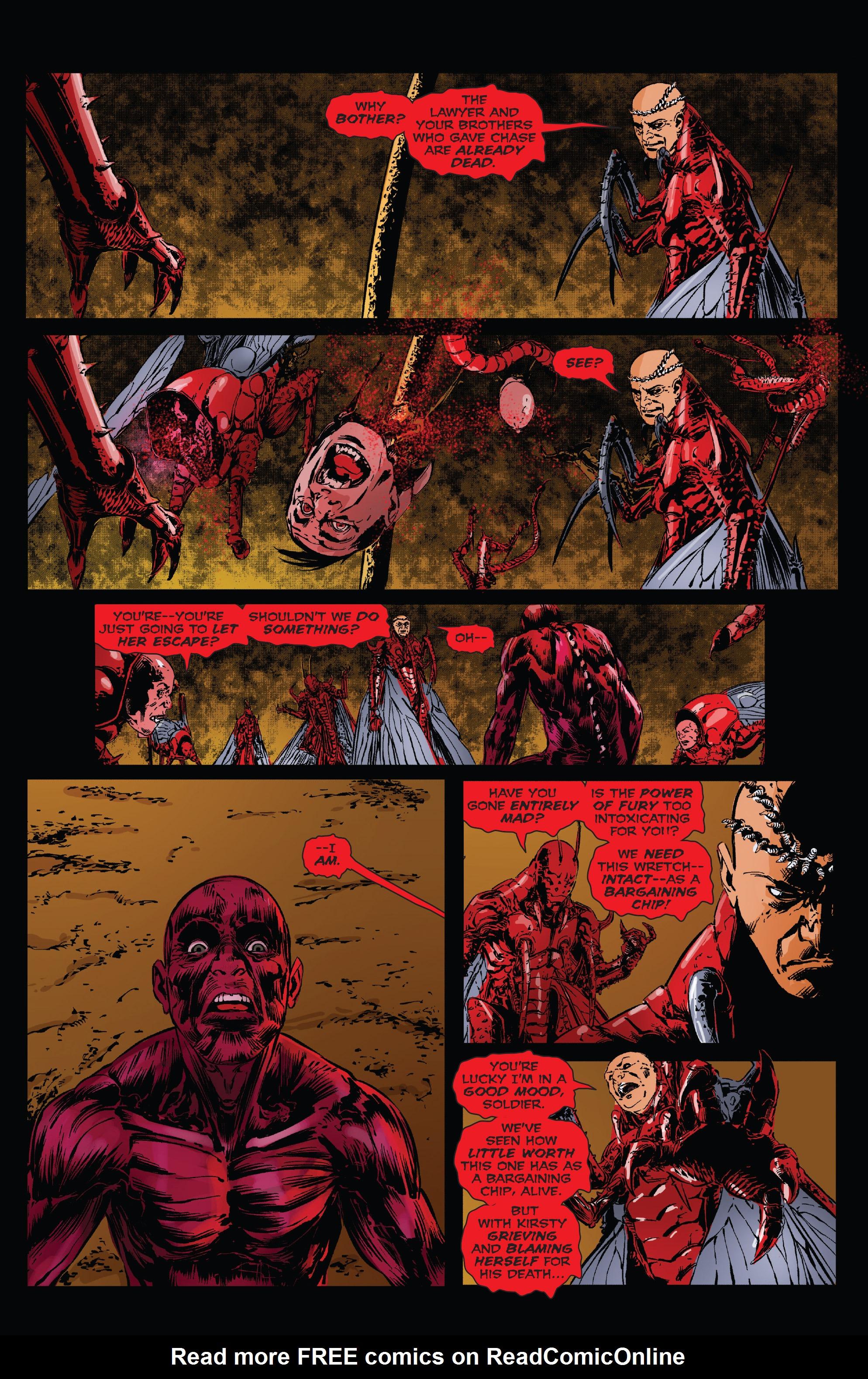 Read online Clive Barker's Hellraiser: The Dark Watch comic -  Issue # TPB 3 - 108