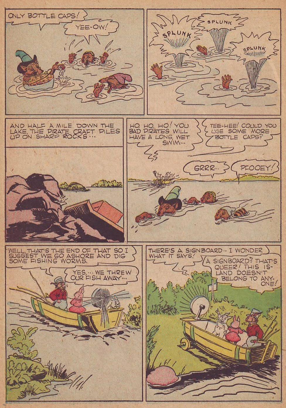 Read online Animal Comics comic -  Issue #8 - 10