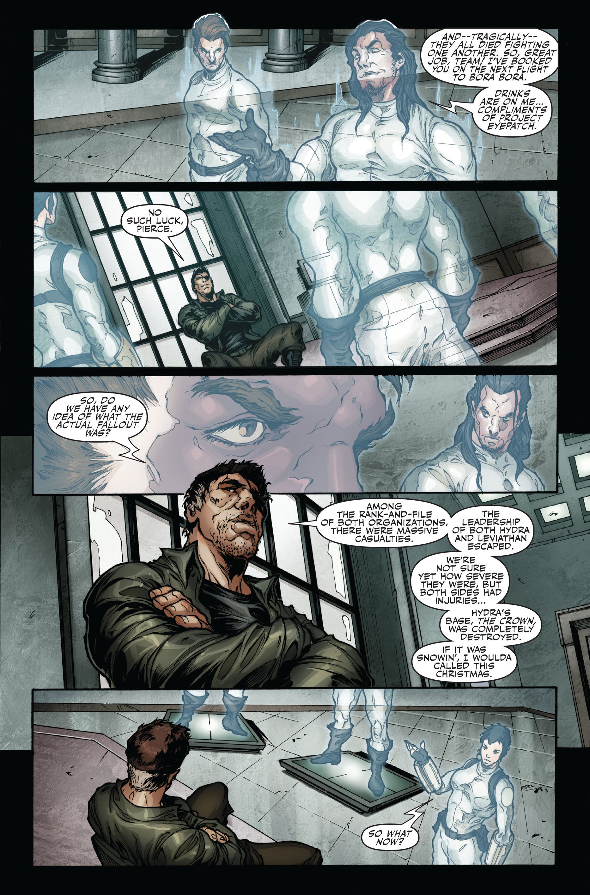 Read online Secret Warriors comic -  Issue #16 - 16