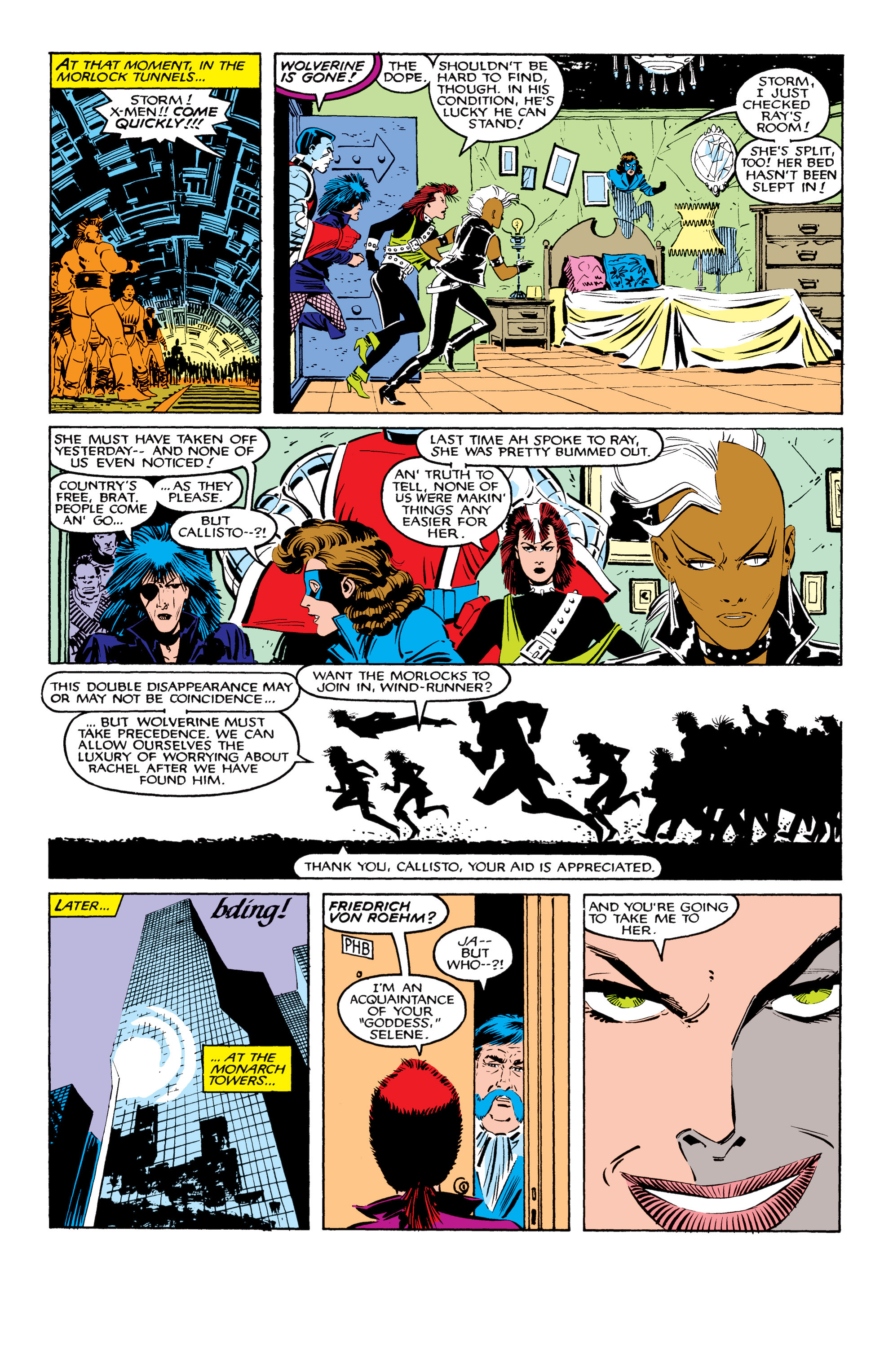 Read online Uncanny X-Men (1963) comic -  Issue #207 - 18
