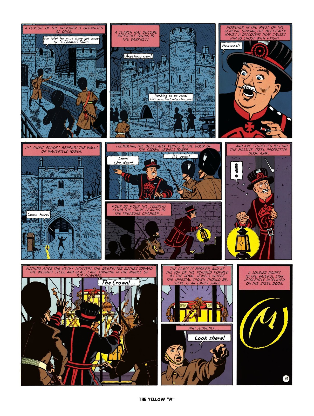 Read online Blake & Mortimer comic -  Issue #25 - 61
