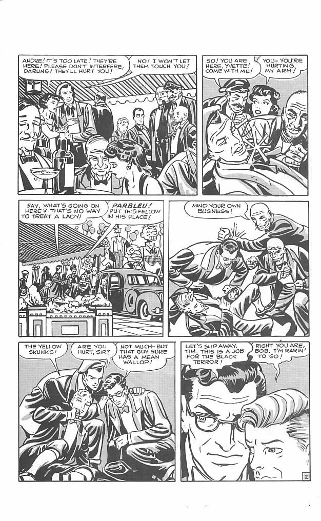 Read online Golden-Age Men of Mystery comic -  Issue #5 - 21