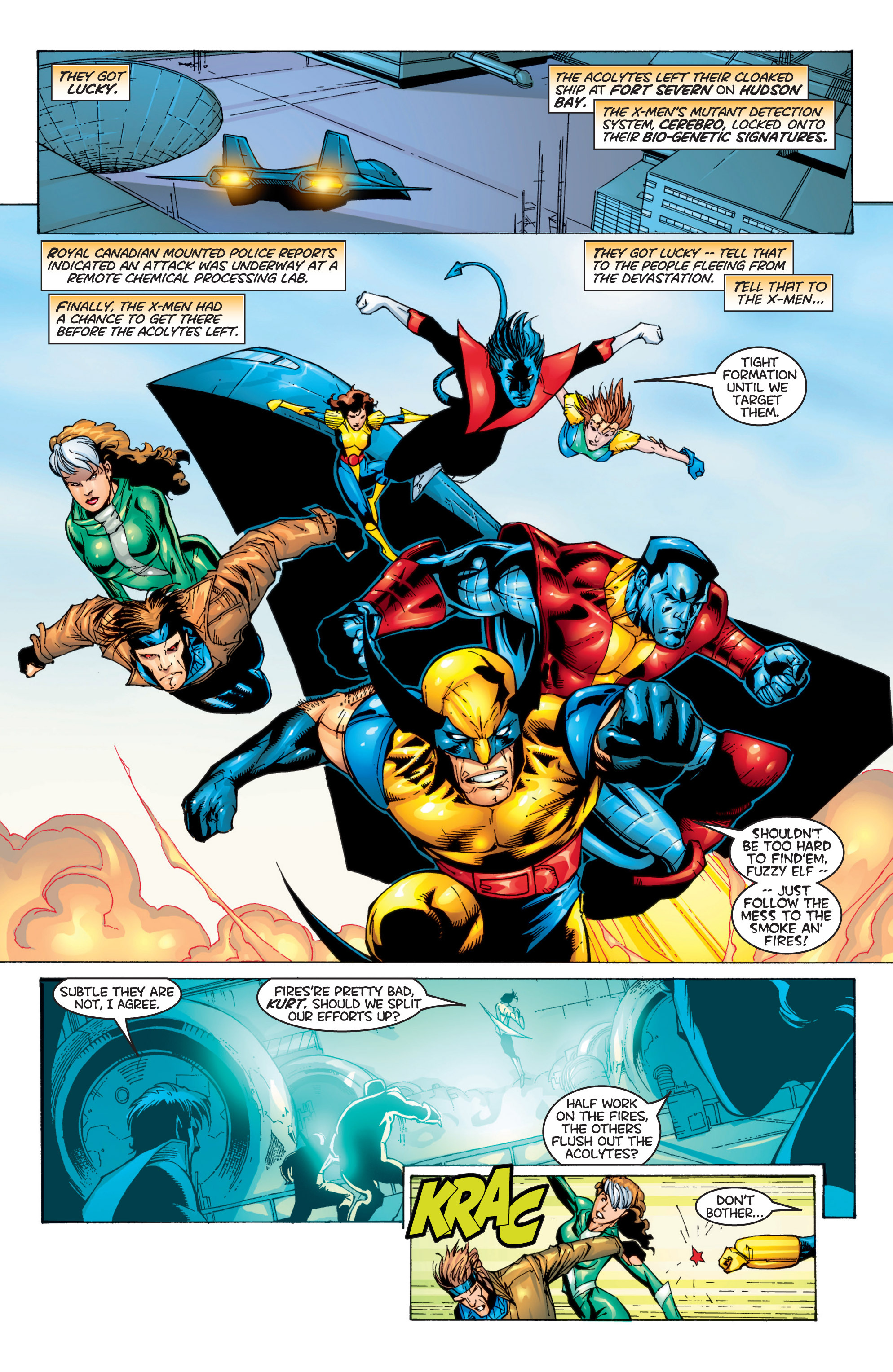 Read online Uncanny X-Men (1963) comic -  Issue #366 - 9