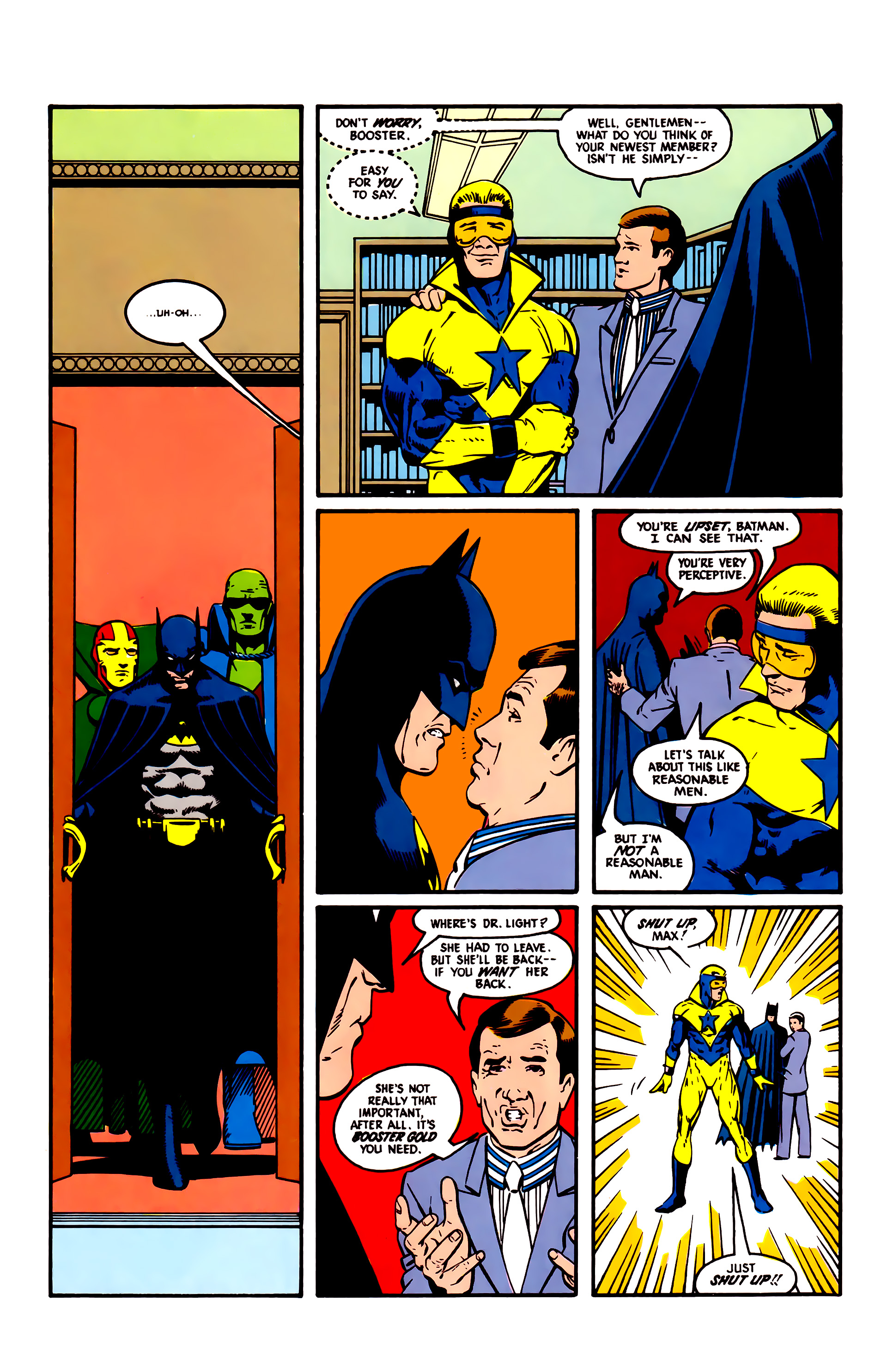 Read online Justice League (1987) comic -  Issue #4 - 5