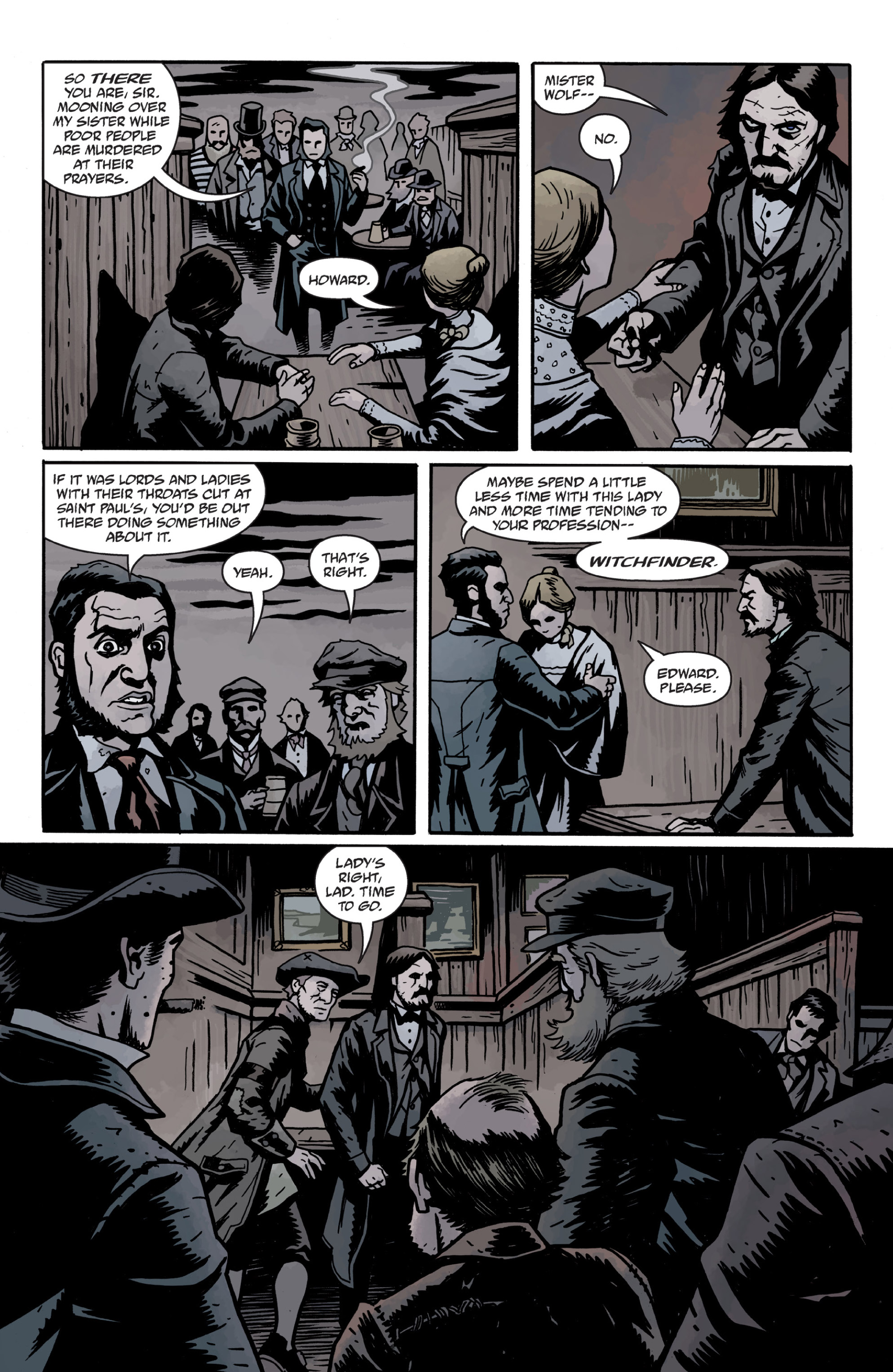 Read online Sir Edward Grey, Witchfinder: In the Service of Angels comic -  Issue # TPB - 96